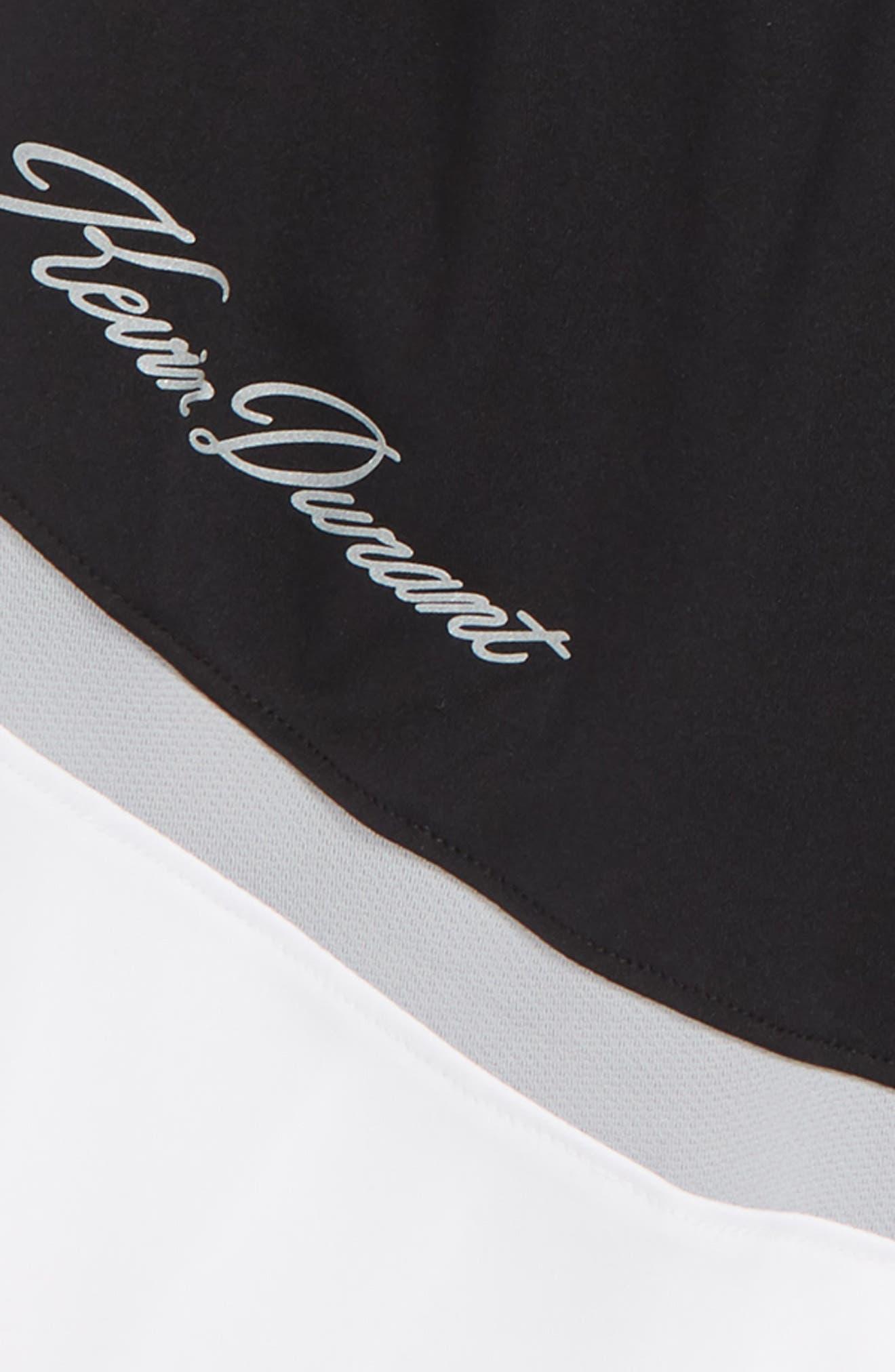 KD Dry Seasonal Shorts,                             Alternate thumbnail 2, color,                             BLACK/ WHITE