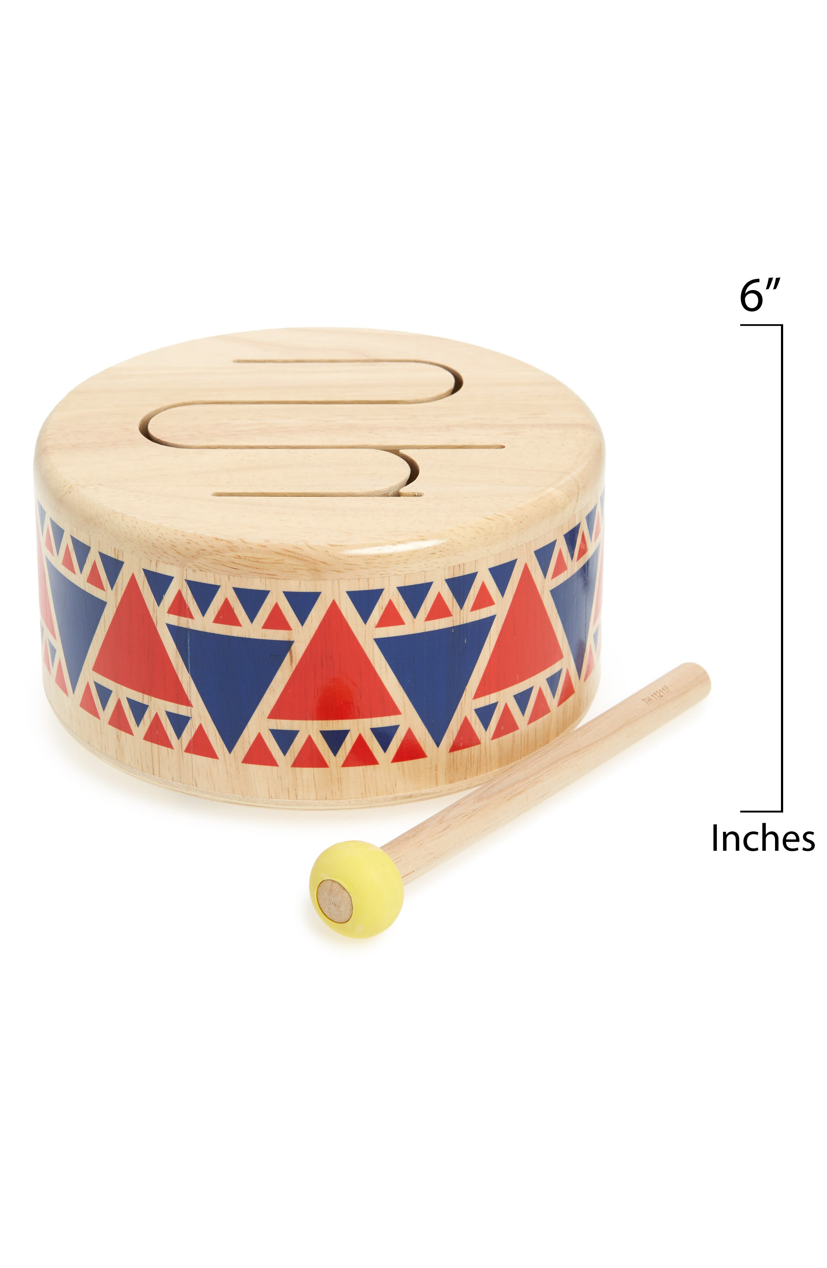 Plan Toys<sup>®</sup> 2-Piece Drum Set,                             Alternate thumbnail 2, color,