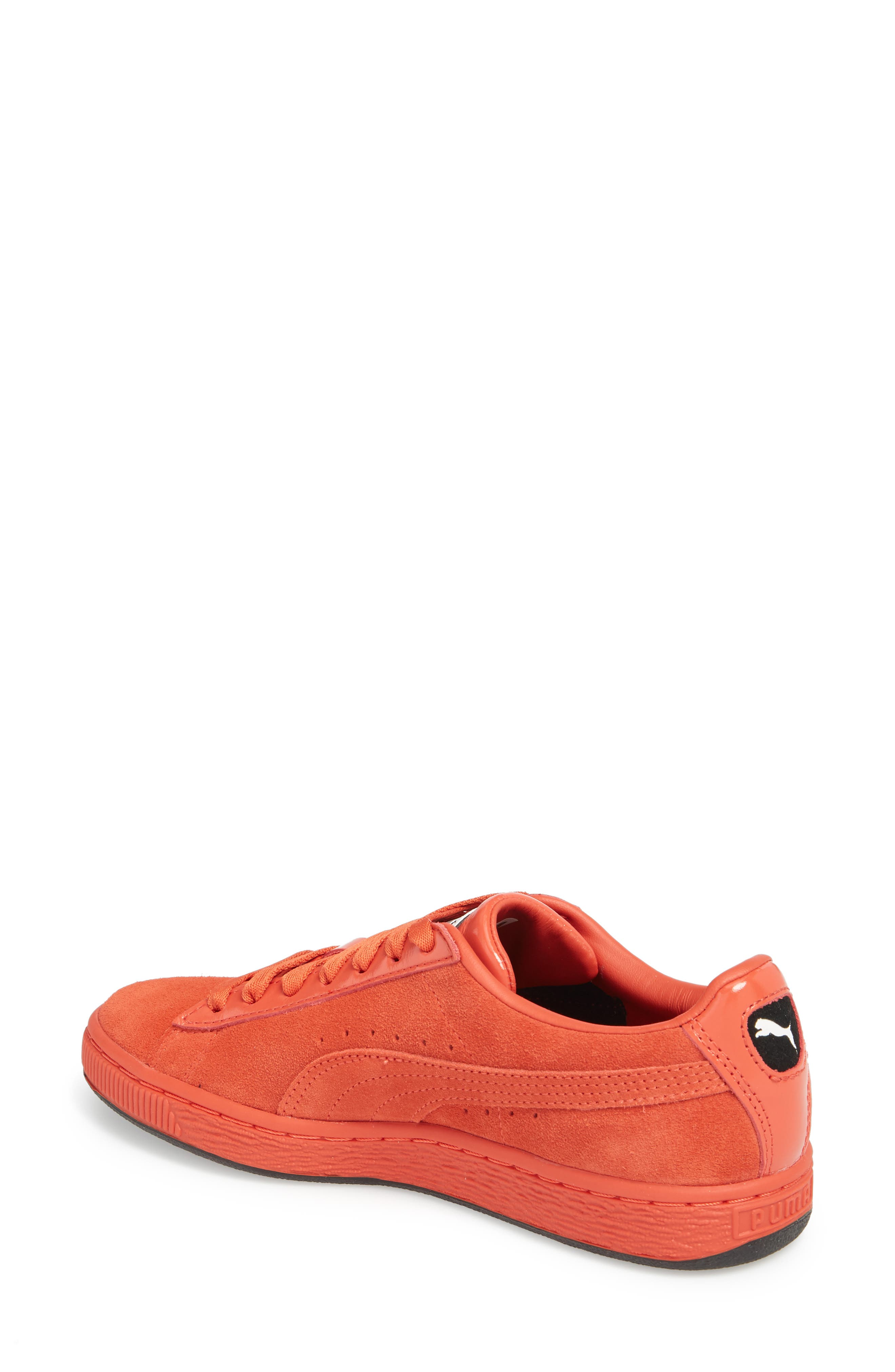 PUMA,                             x MAC ONE Suede Classic Sneaker,                             Alternate thumbnail 2, color,                             600