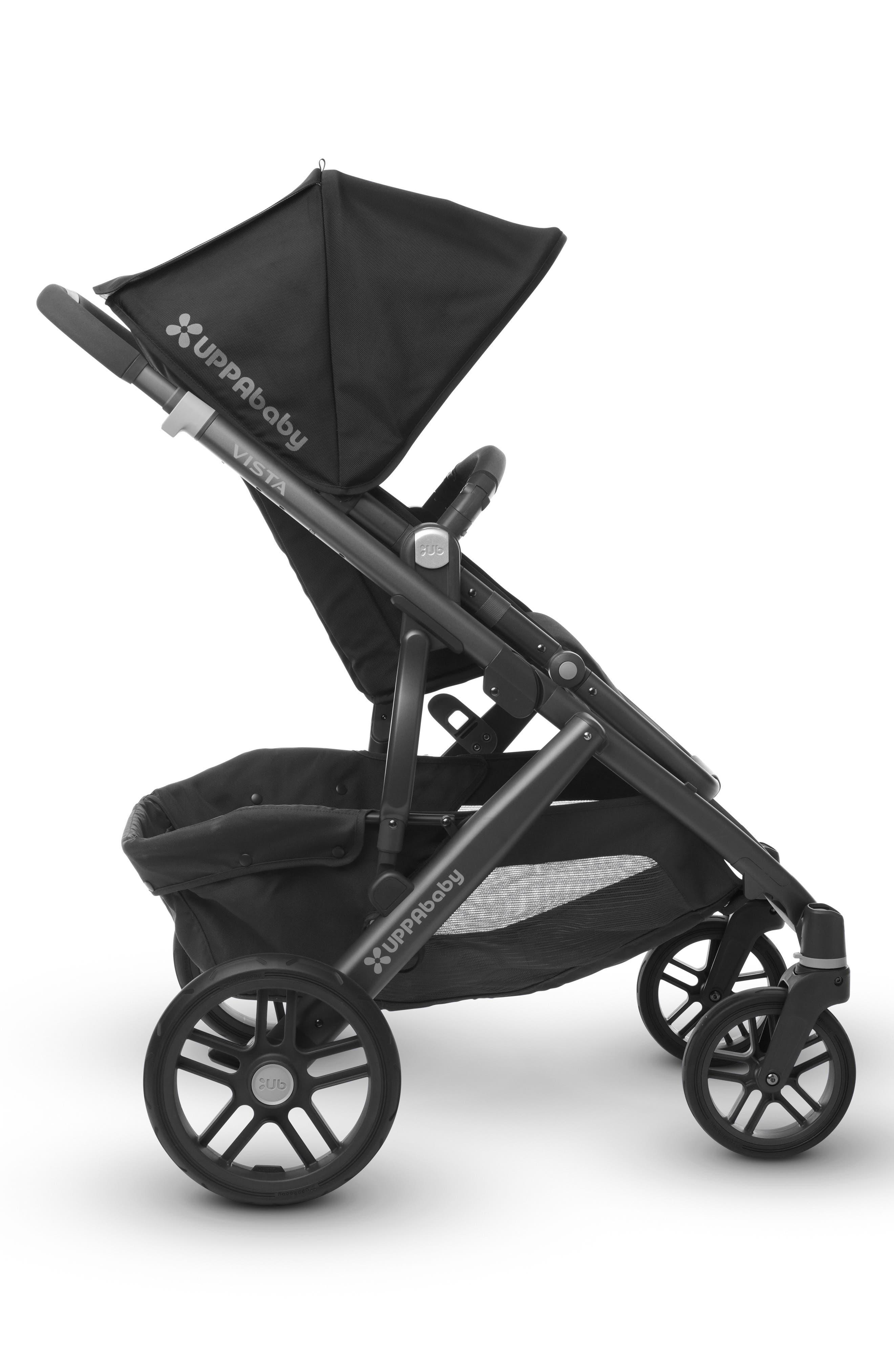 2017 VISTA Aluminum Frame Convertible Stroller with Bassinet & Toddler Seat,                             Alternate thumbnail 3, color,                             001