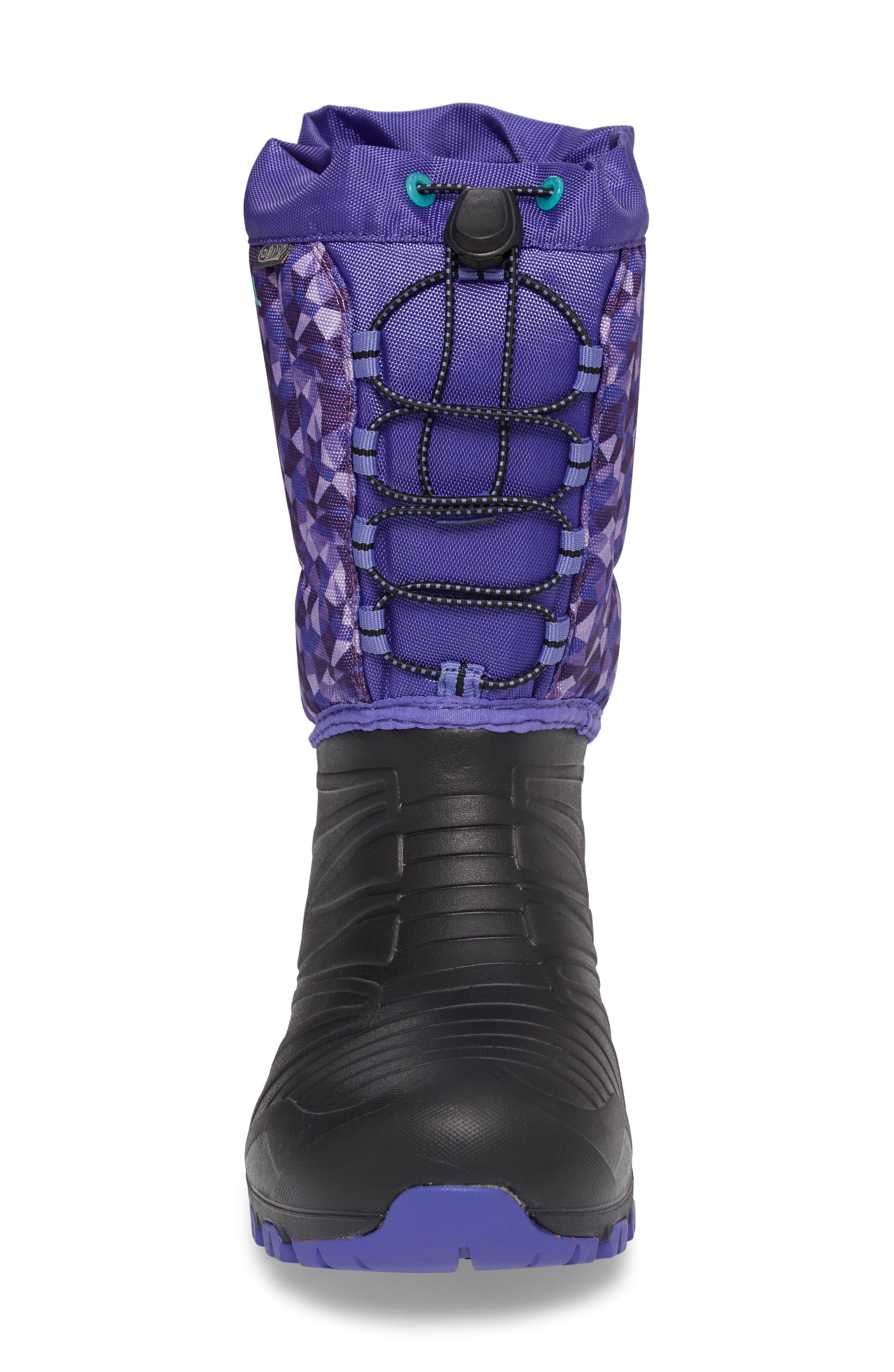 Snow Quest Lite Waterproof Boot,                             Alternate thumbnail 4, color,                             002