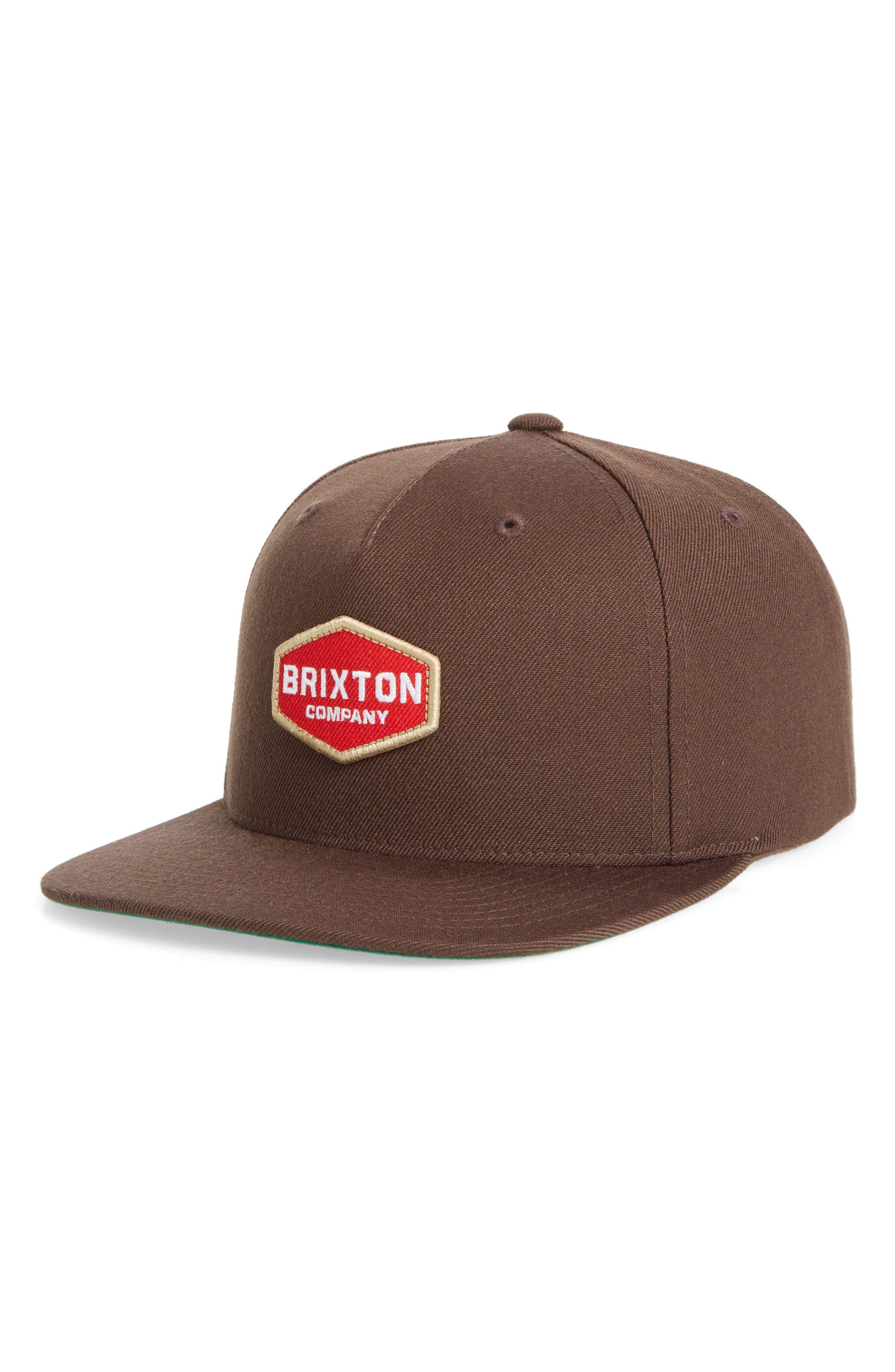 Brighton Obtuse Snapback Baseball Cap,                         Main,                         color, 200