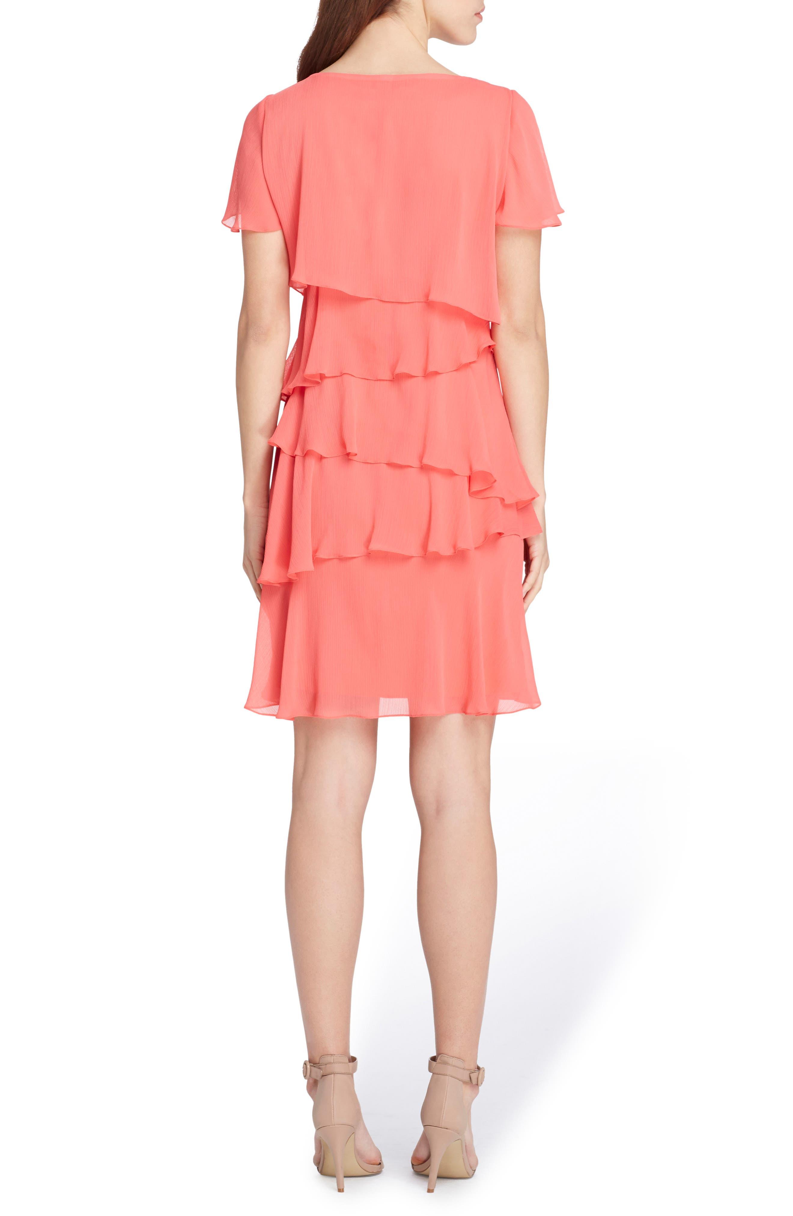 Yoryu Chiffon Ruffle Dress,                             Alternate thumbnail 2, color,                             959