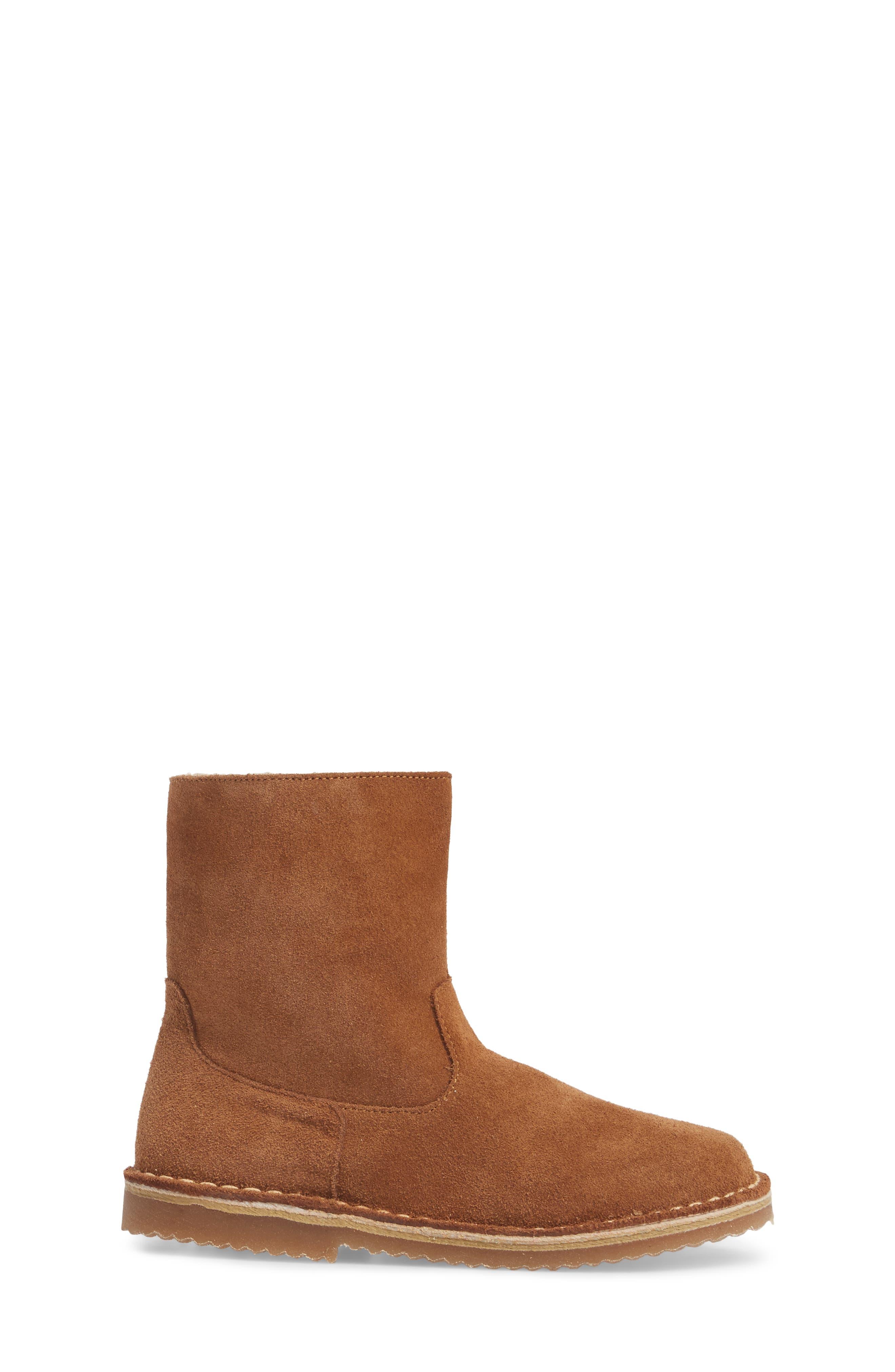Faux Fur Lined Boot,                             Alternate thumbnail 3, color,                             234