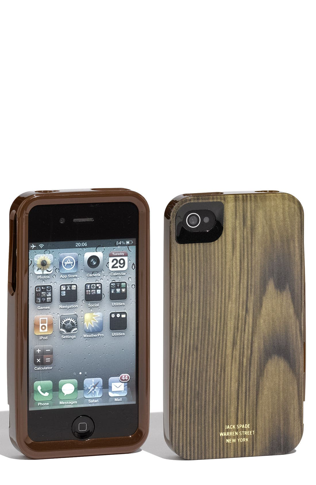 JACK SPADE 'Woody' iPhone Case, Main, color, 200