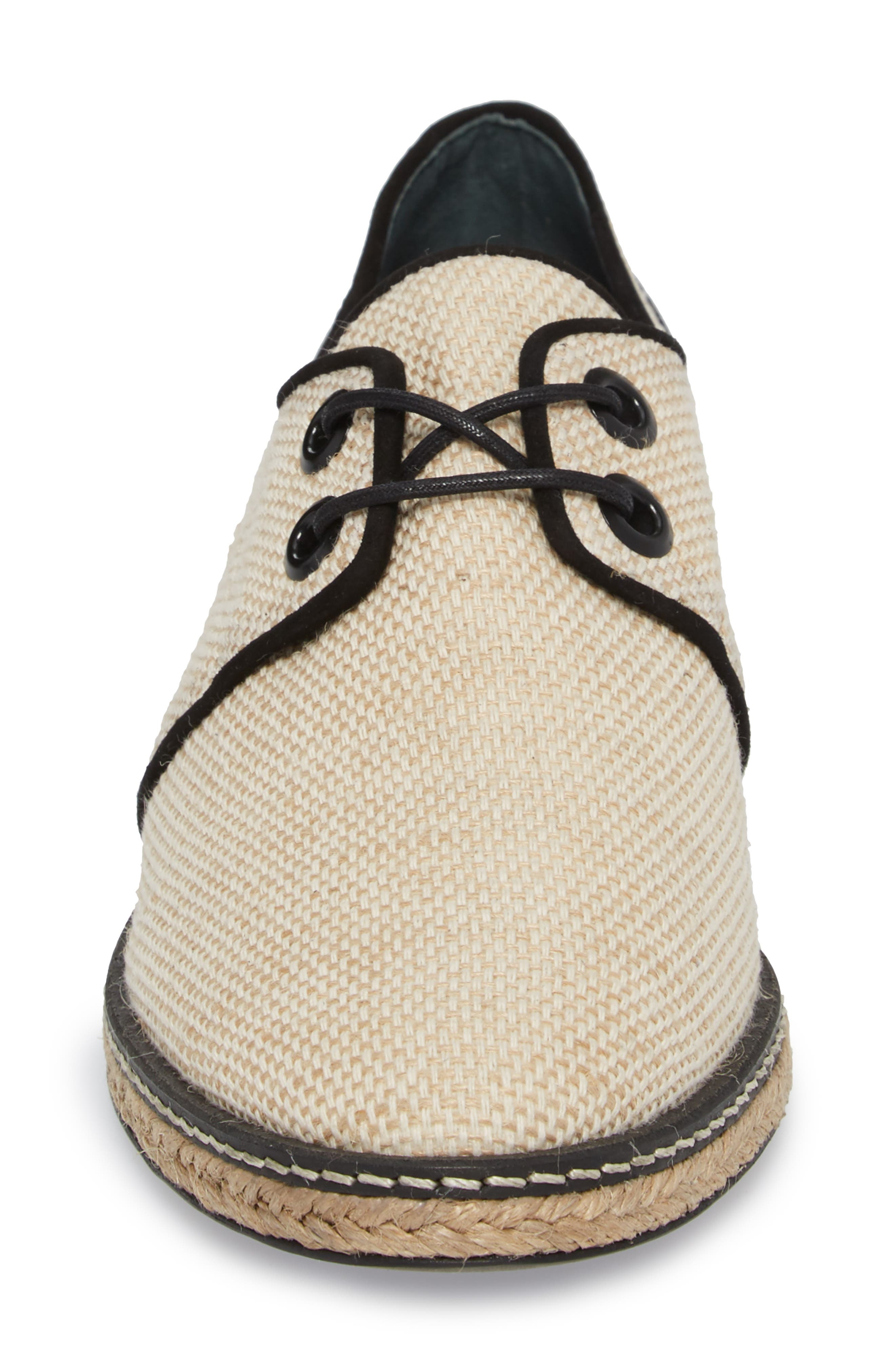 Fawn Espadrille Oxford,                             Alternate thumbnail 4, color,                             254