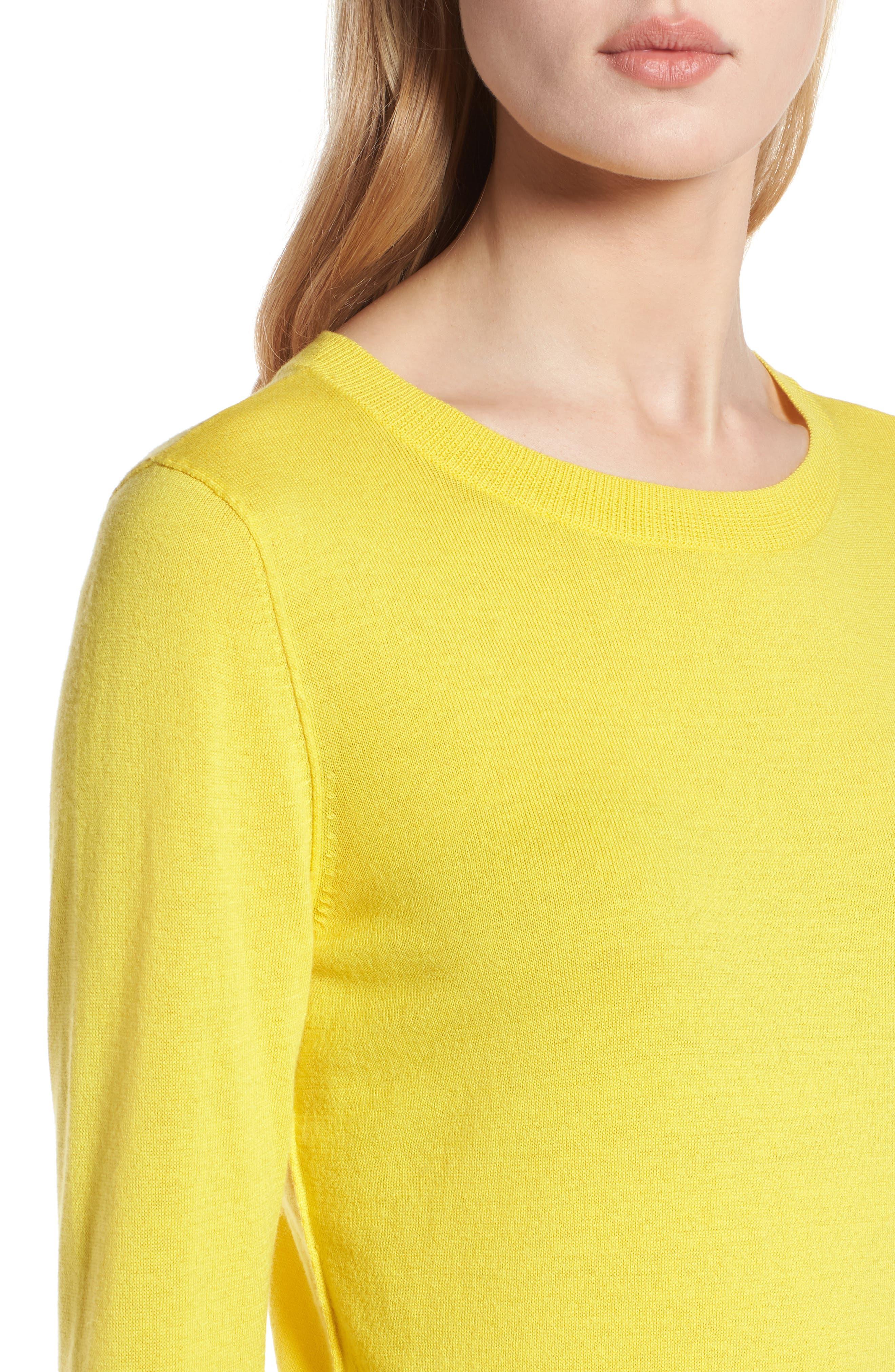 Cotton Blend Pullover,                             Alternate thumbnail 95, color,