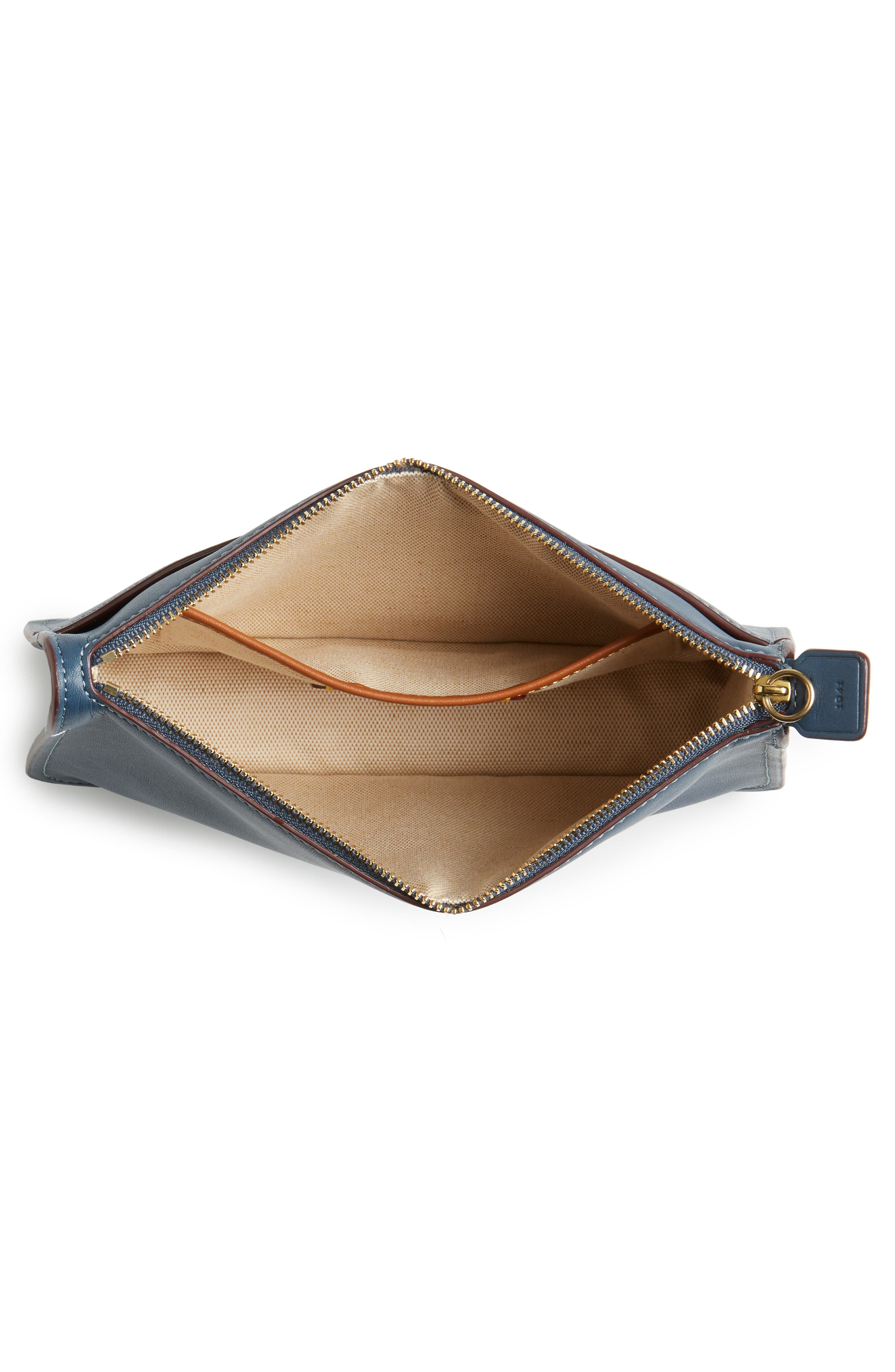 Soho Leather Crossbody Bag,                             Alternate thumbnail 4, color,