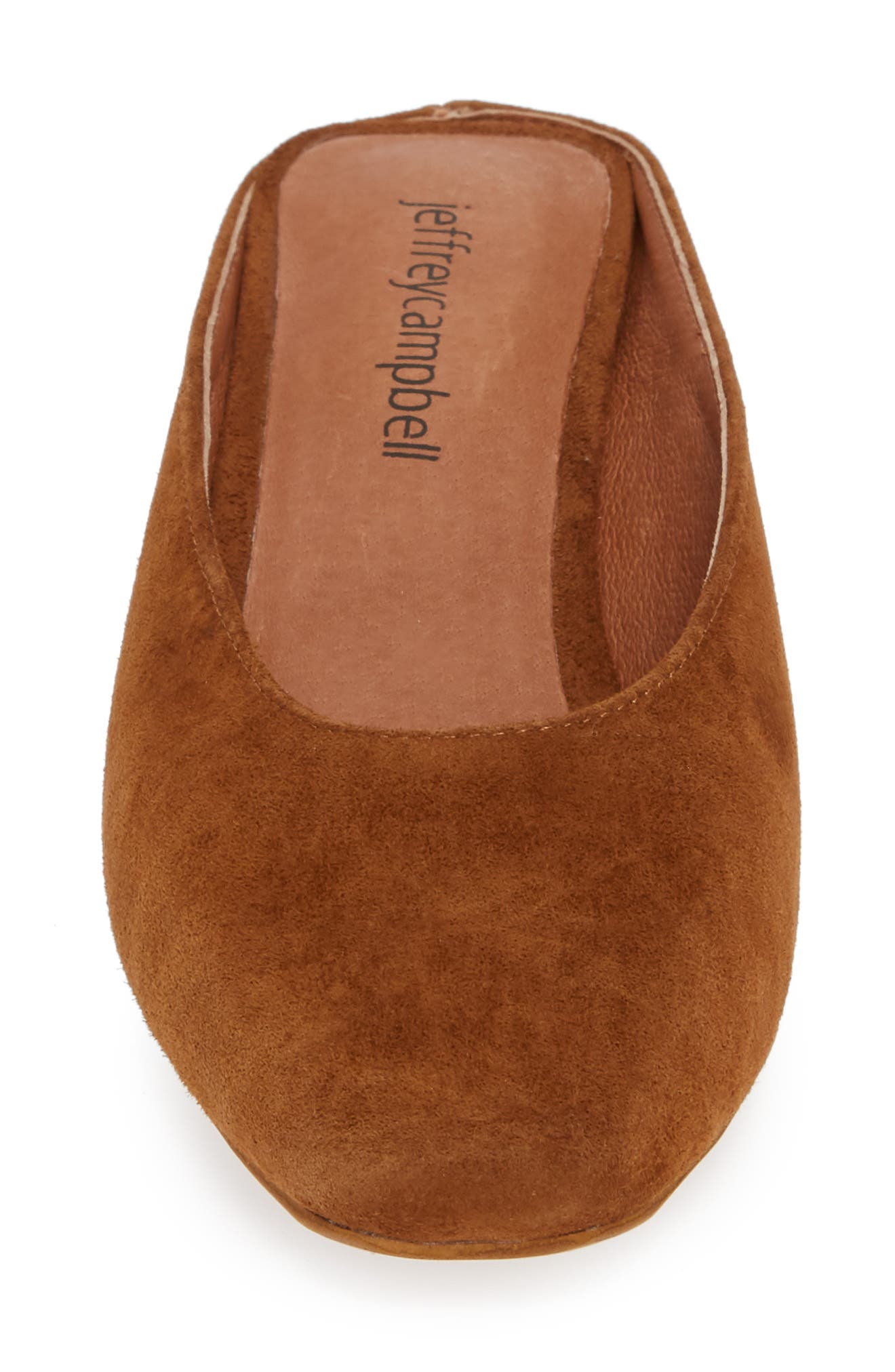 Cryptic 2 Mule,                             Alternate thumbnail 4, color,                             TAN SUEDE