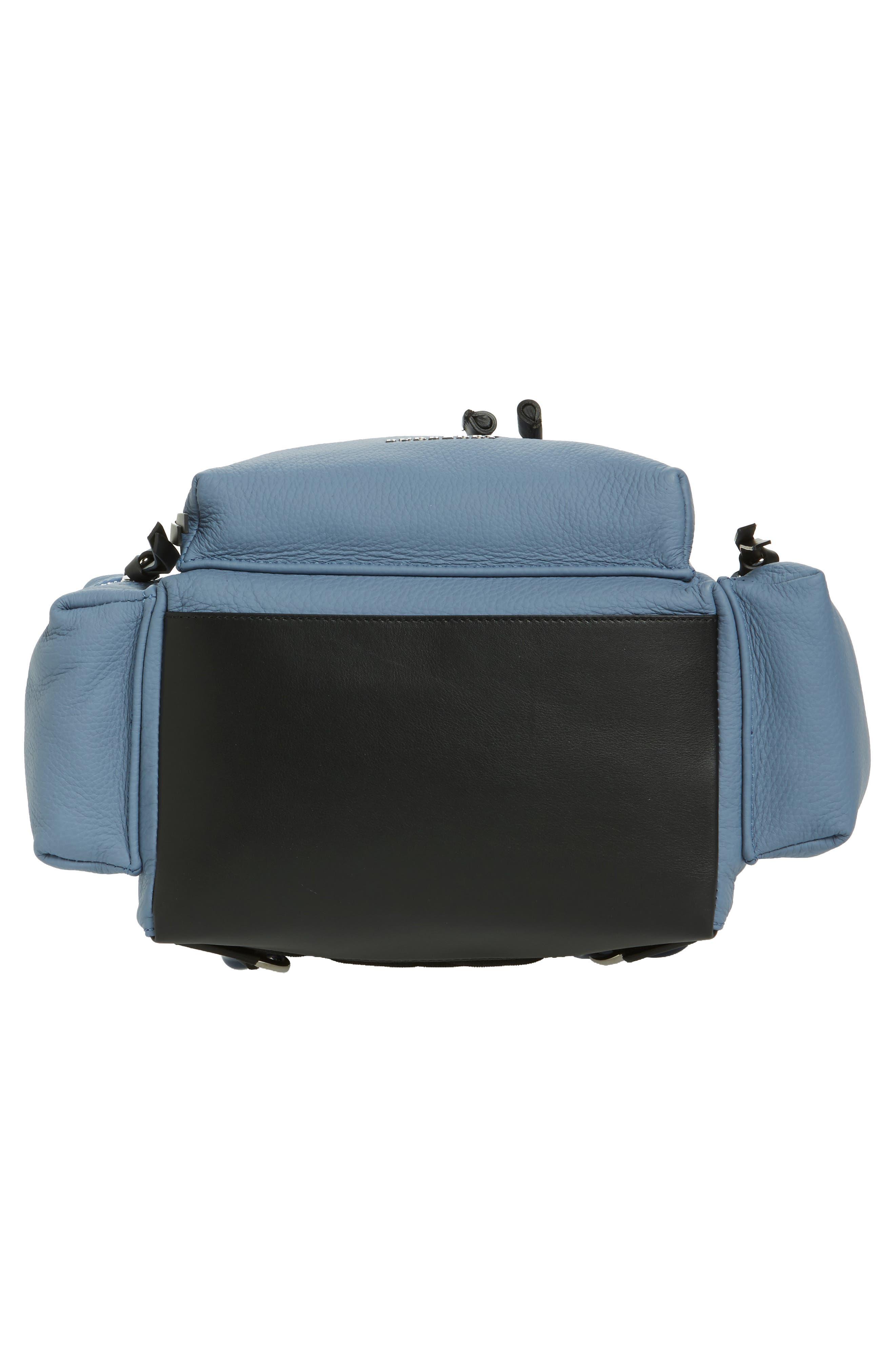 Medium Rucksack Deerskin Backpack,                             Alternate thumbnail 6, color,                             427