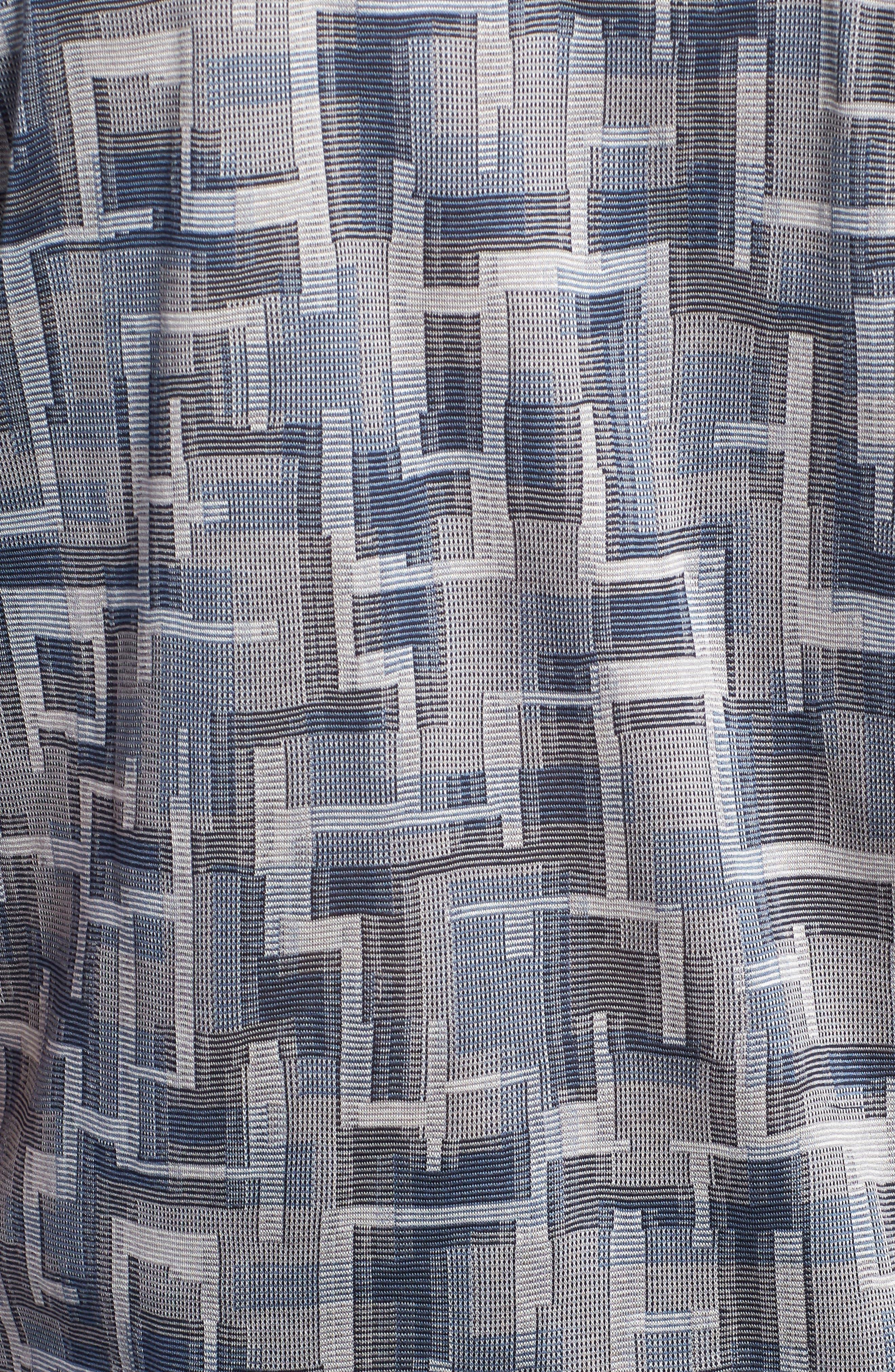Mercerized Cotton Polo,                             Alternate thumbnail 5, color,                             GRAPHITE