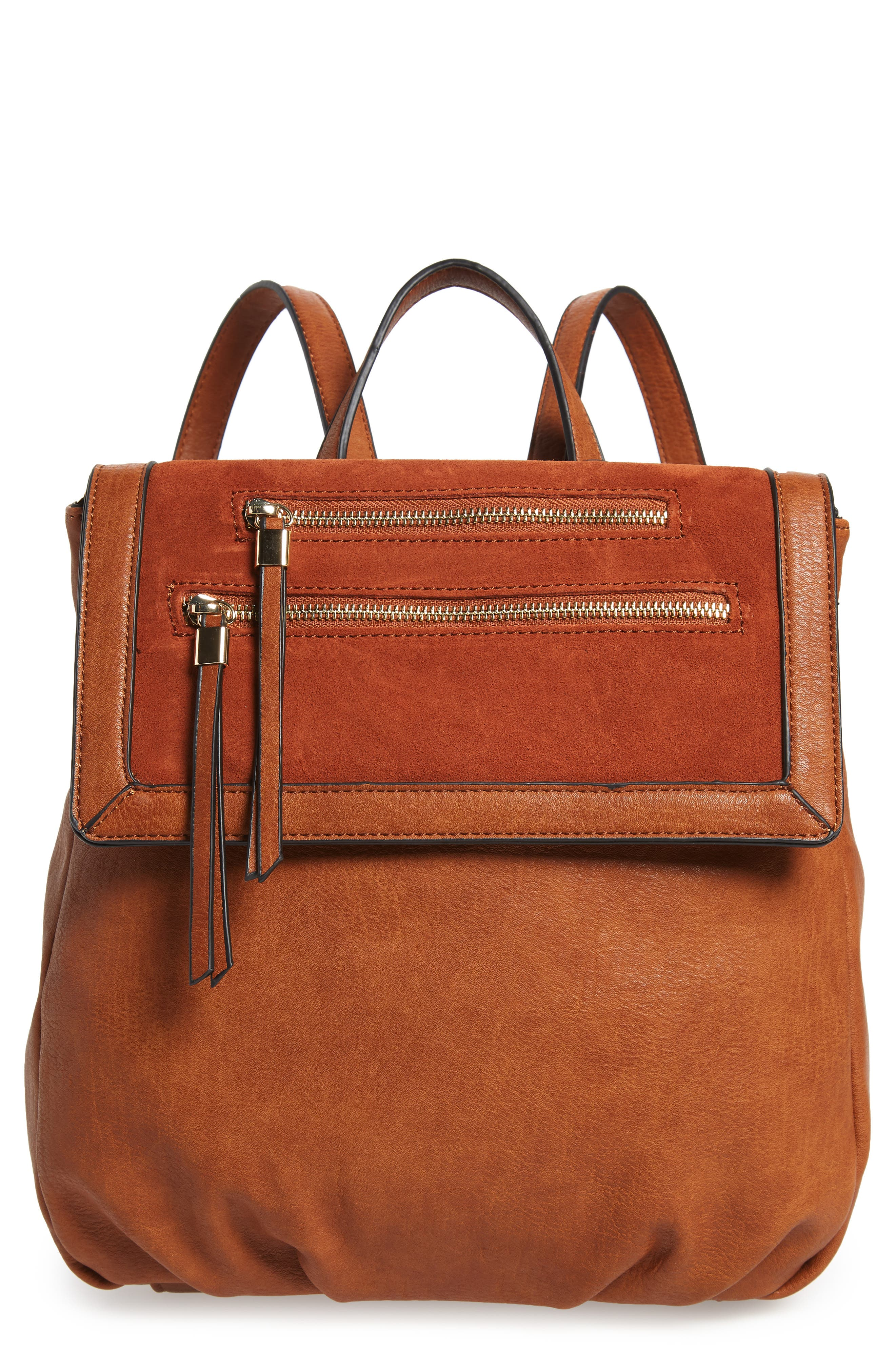 Chele Backpack,                         Main,                         color, COGNAC