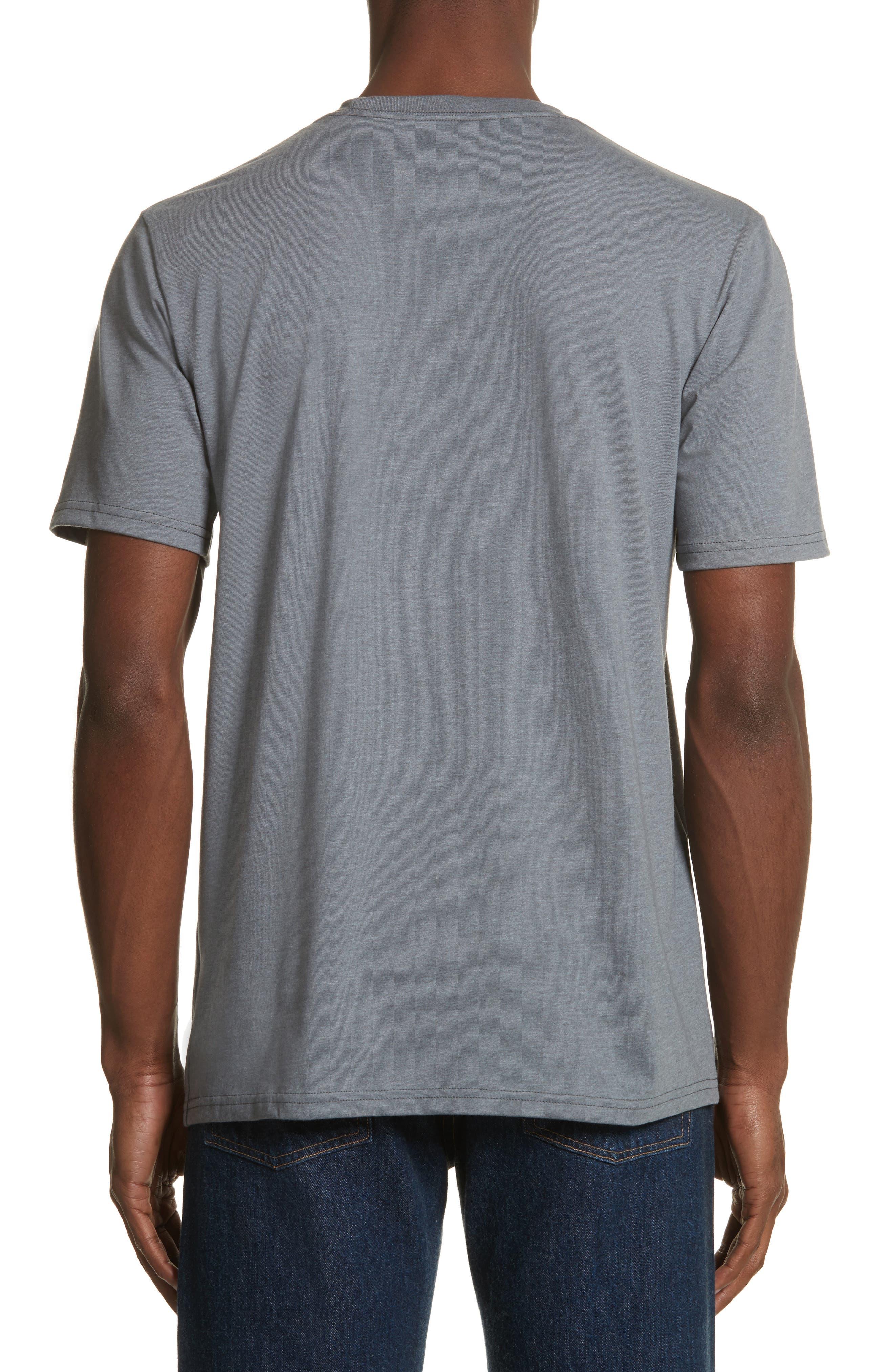 Unisex Pocket T-Shirt,                             Alternate thumbnail 2, color,                             030