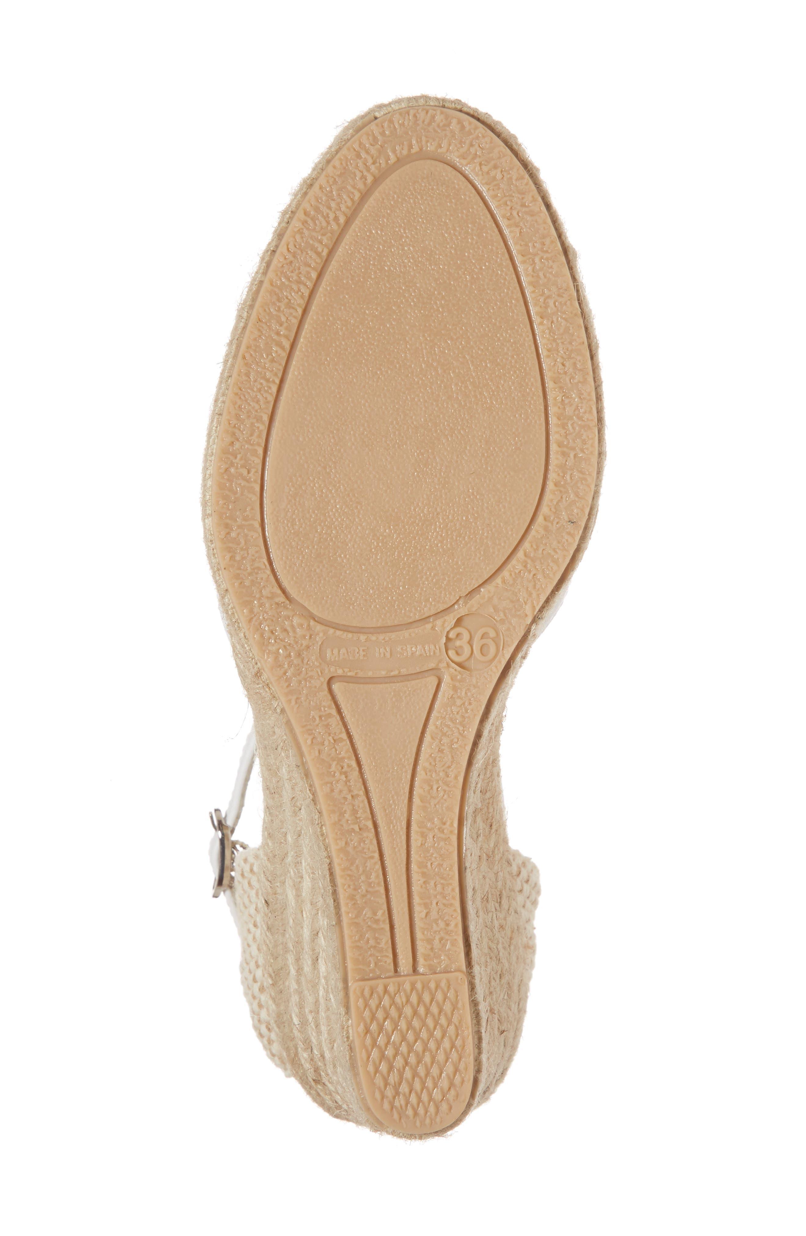 NAPA FLEX,                             Europa Wedge Sandal,                             Alternate thumbnail 6, color,                             100
