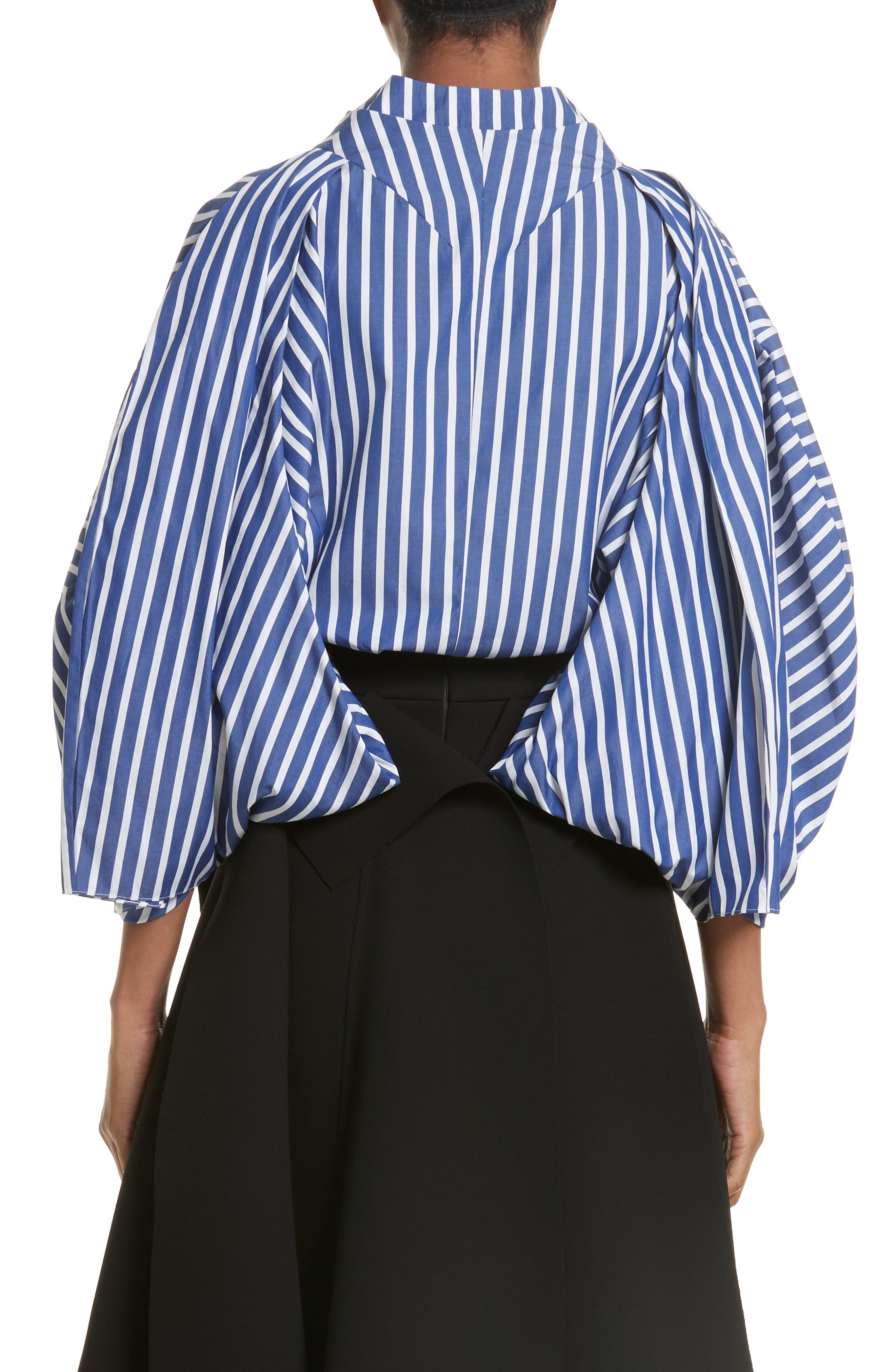 Twisted Sleeve Blouse,                             Alternate thumbnail 2, color,                             400