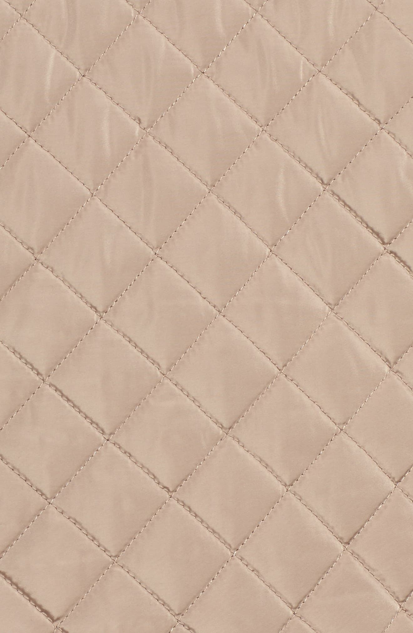 Water Resistant Diamond Quilted Jacket,                             Alternate thumbnail 6, color,                             021
