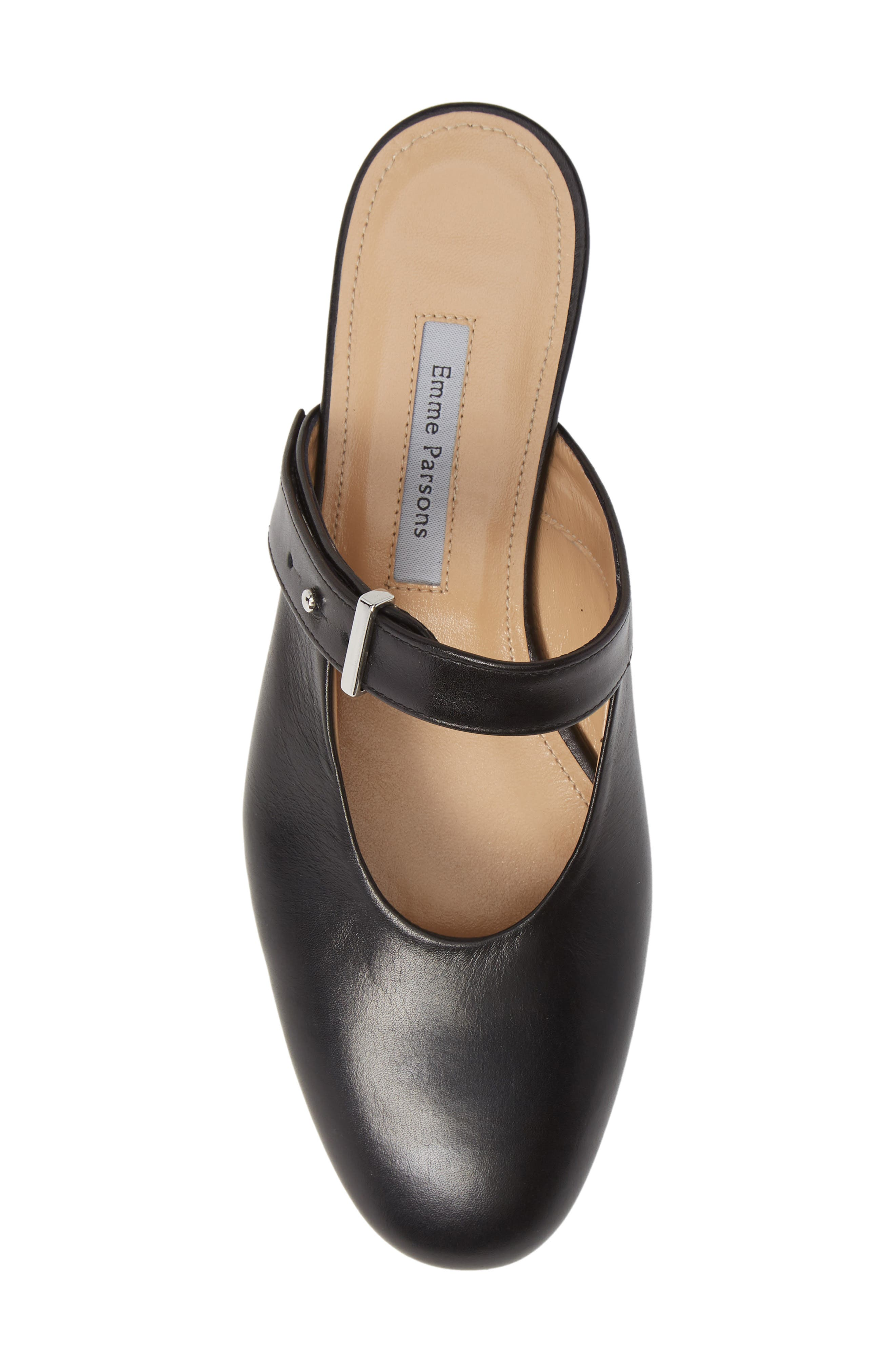 Certo Mary Jane Mule,                             Alternate thumbnail 5, color,                             BLACK LEATHER