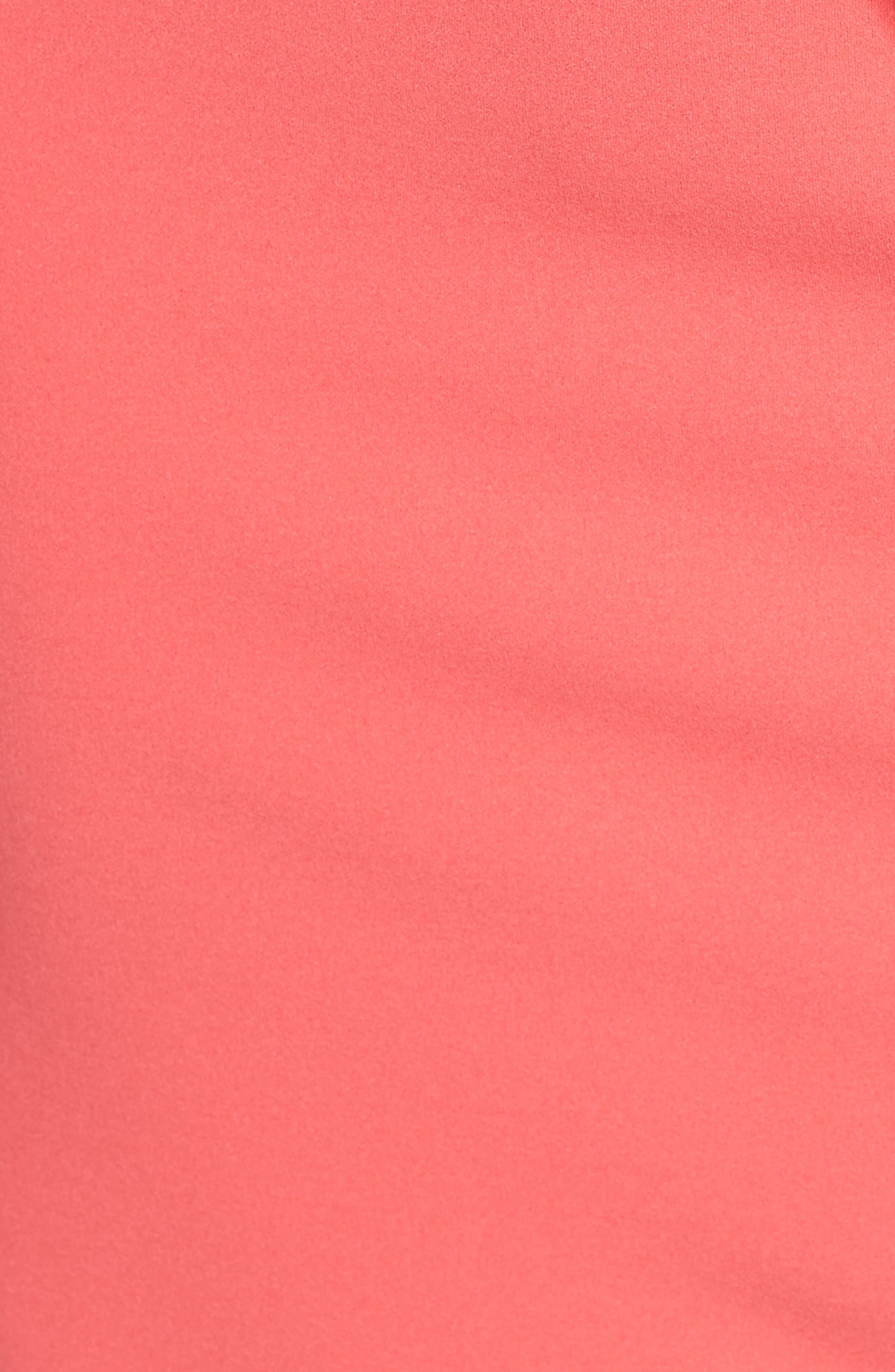 Roll Neck Crepe Dress,                             Alternate thumbnail 5, color,                             650