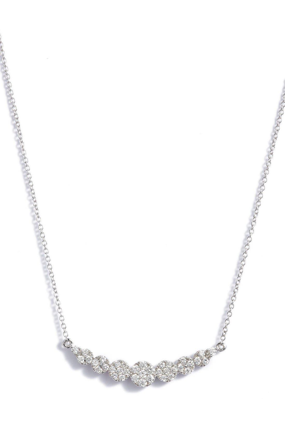 BONY LEVY,                             'Liora' Diamond Pendant Necklace,                             Main thumbnail 1, color,                             711