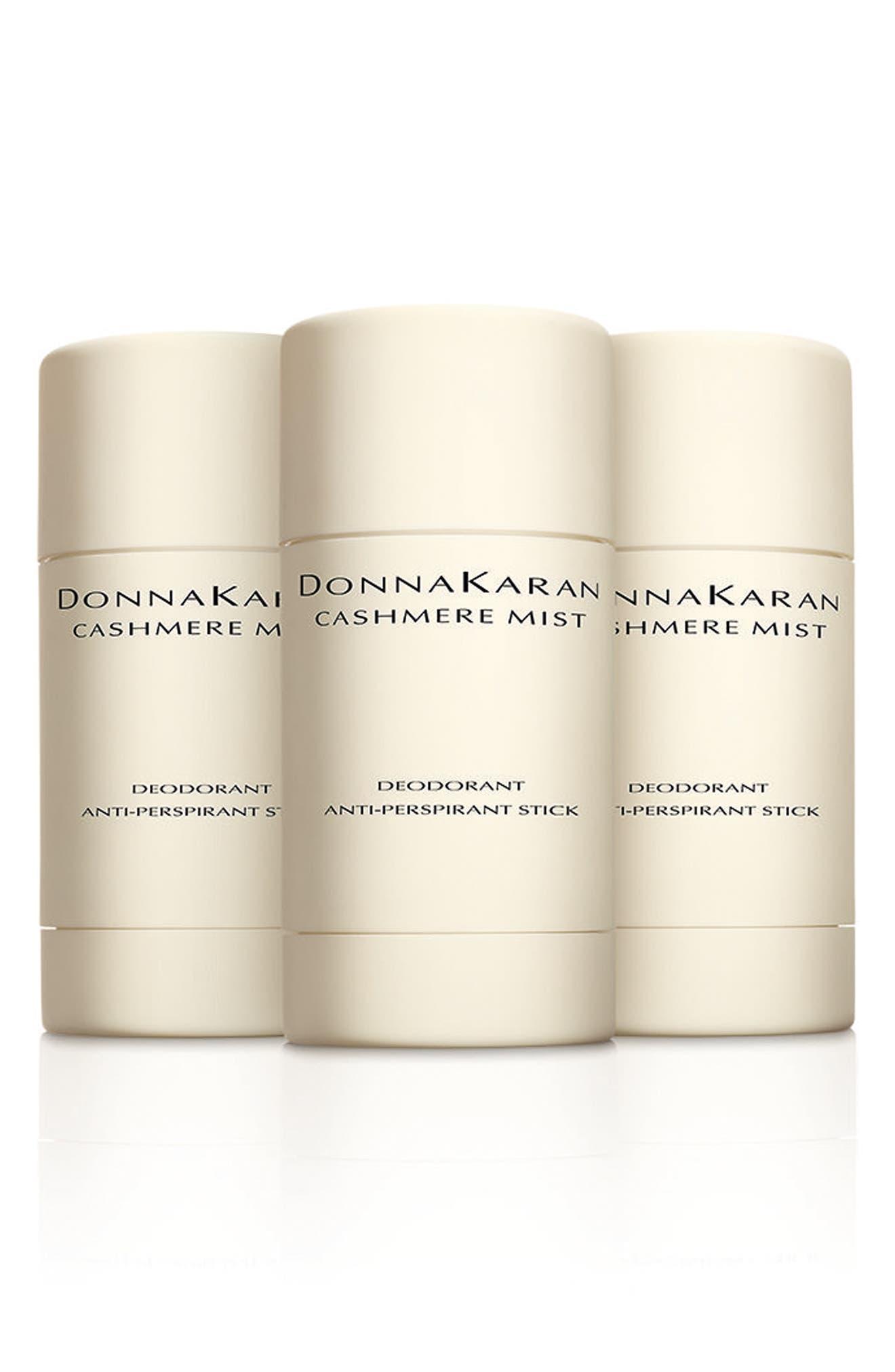 Donna Karan Cashmere Mist Deodorant Trio,                             Main thumbnail 1, color,                             000
