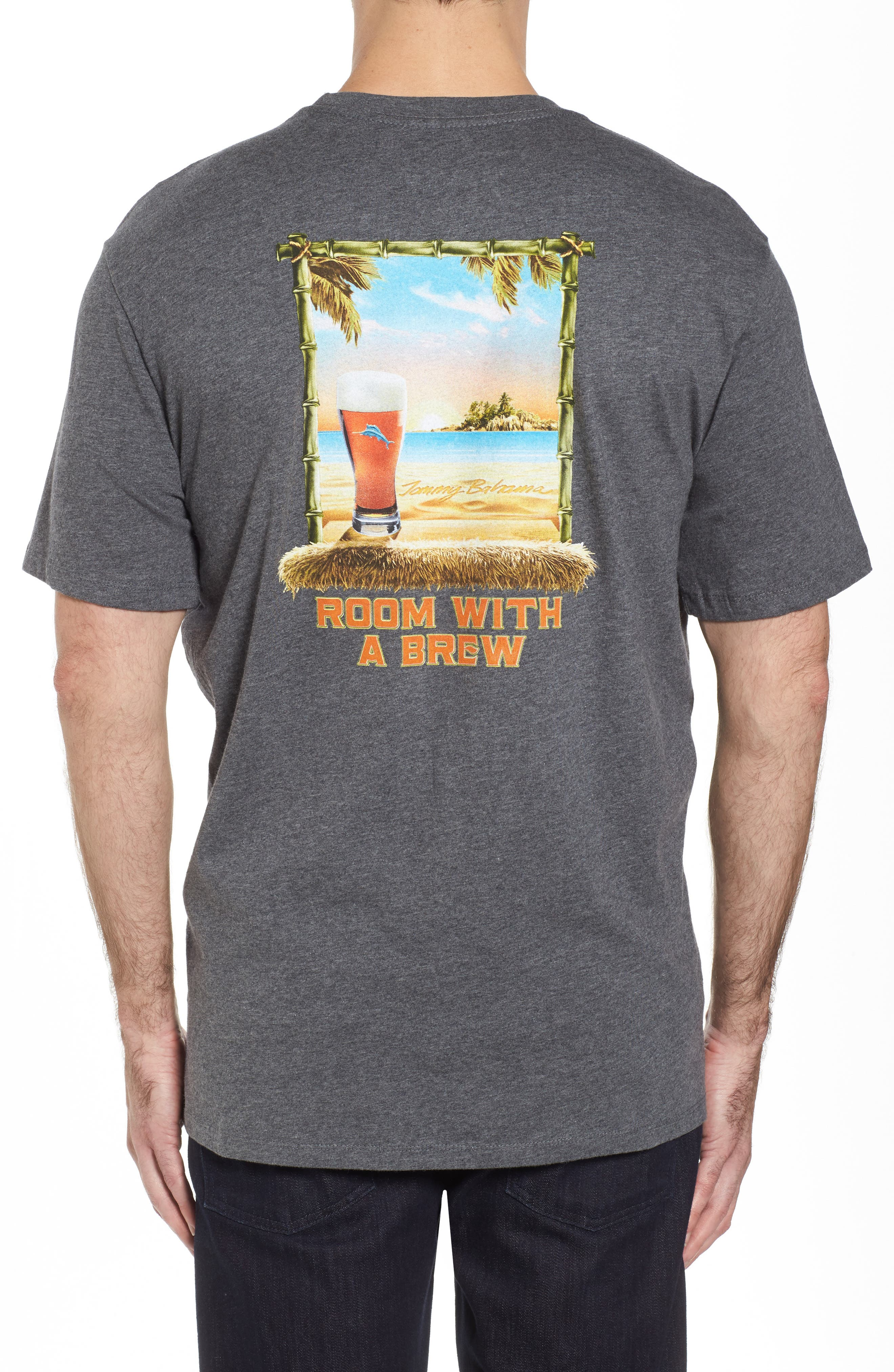 Room with a Brew T-Shirt,                             Alternate thumbnail 2, color,                             050