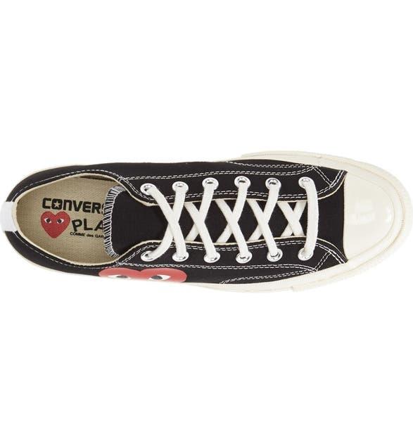 478fe4505f4e Comme des Garçons PLAY x Converse Chuck Taylor® Low Top Sneaker (Men ...