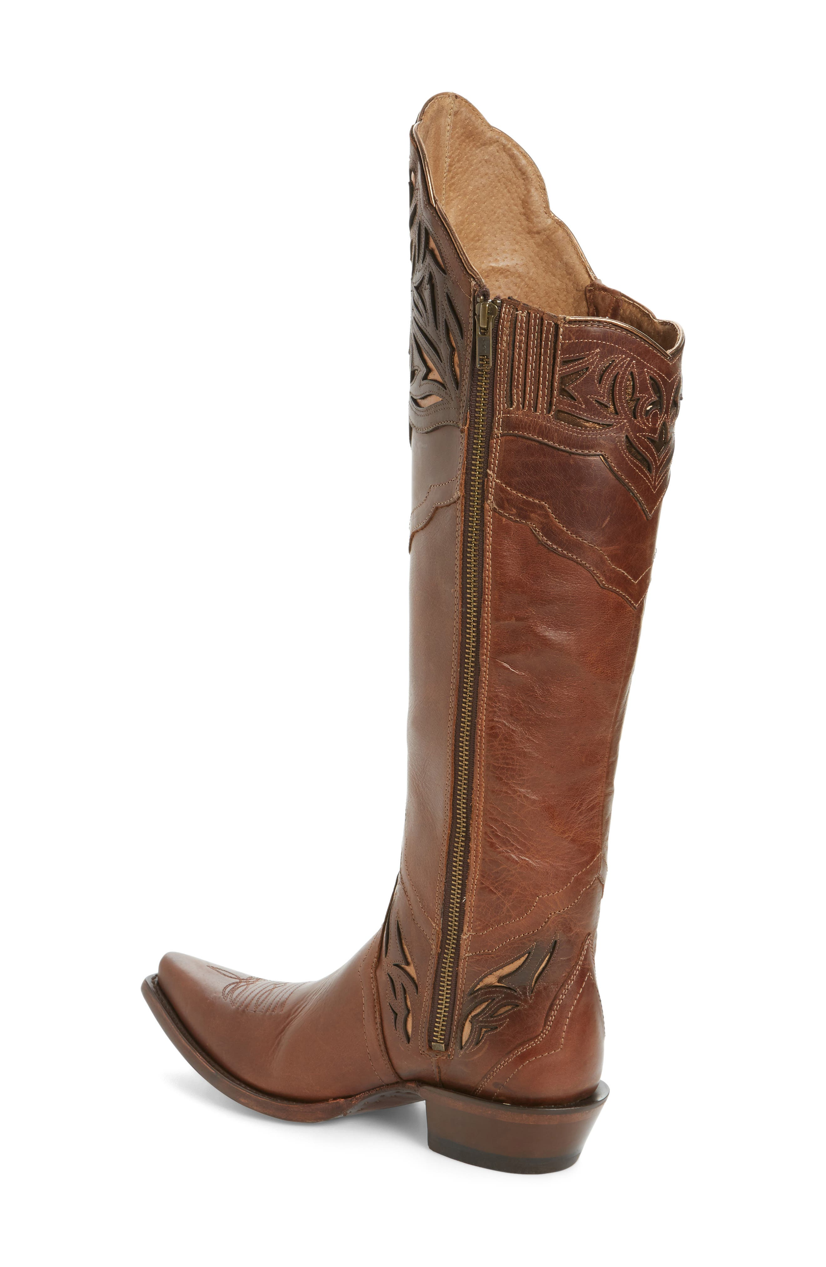 Chaparral Over the Knee Western Boot,                             Alternate thumbnail 2, color,                             200
