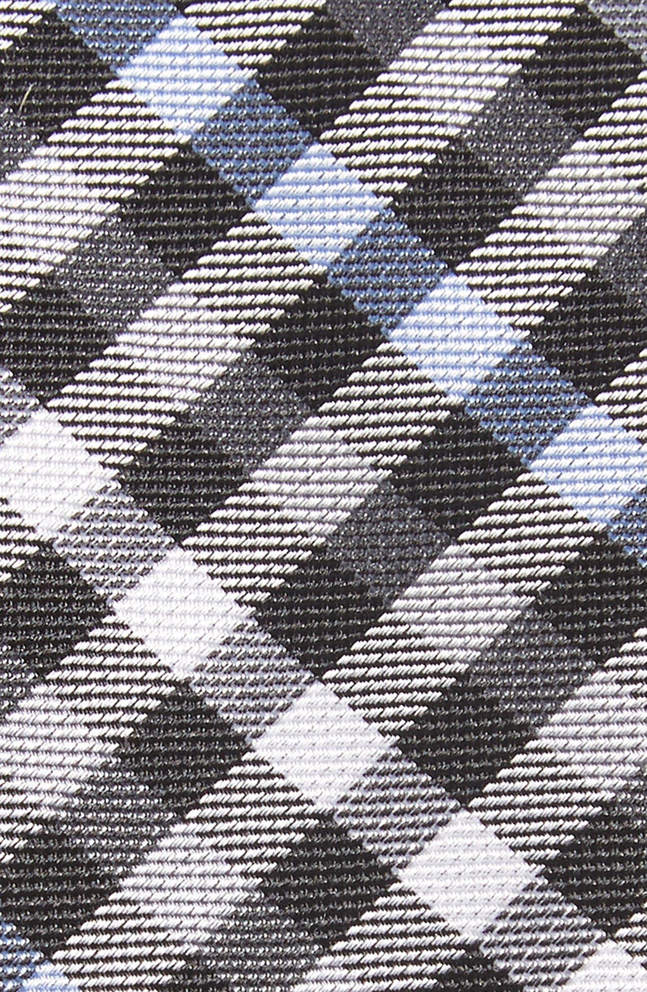 Wynant Check Skinny Silk Tie,                             Alternate thumbnail 2, color,                             001