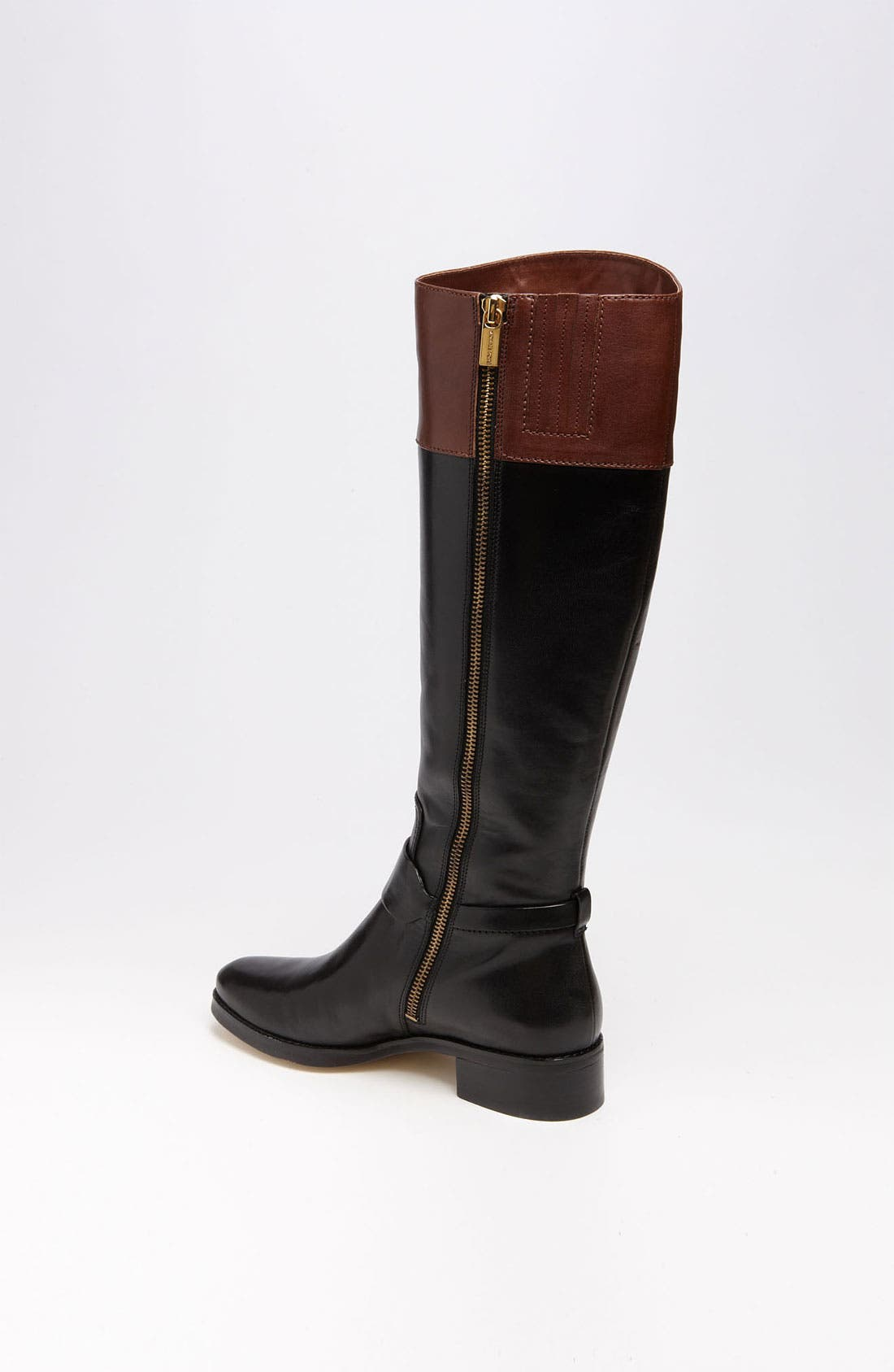 MICHAEL MICHAEL KORS,                             'Fulton' Harness Boot,                             Alternate thumbnail 4, color,                             014