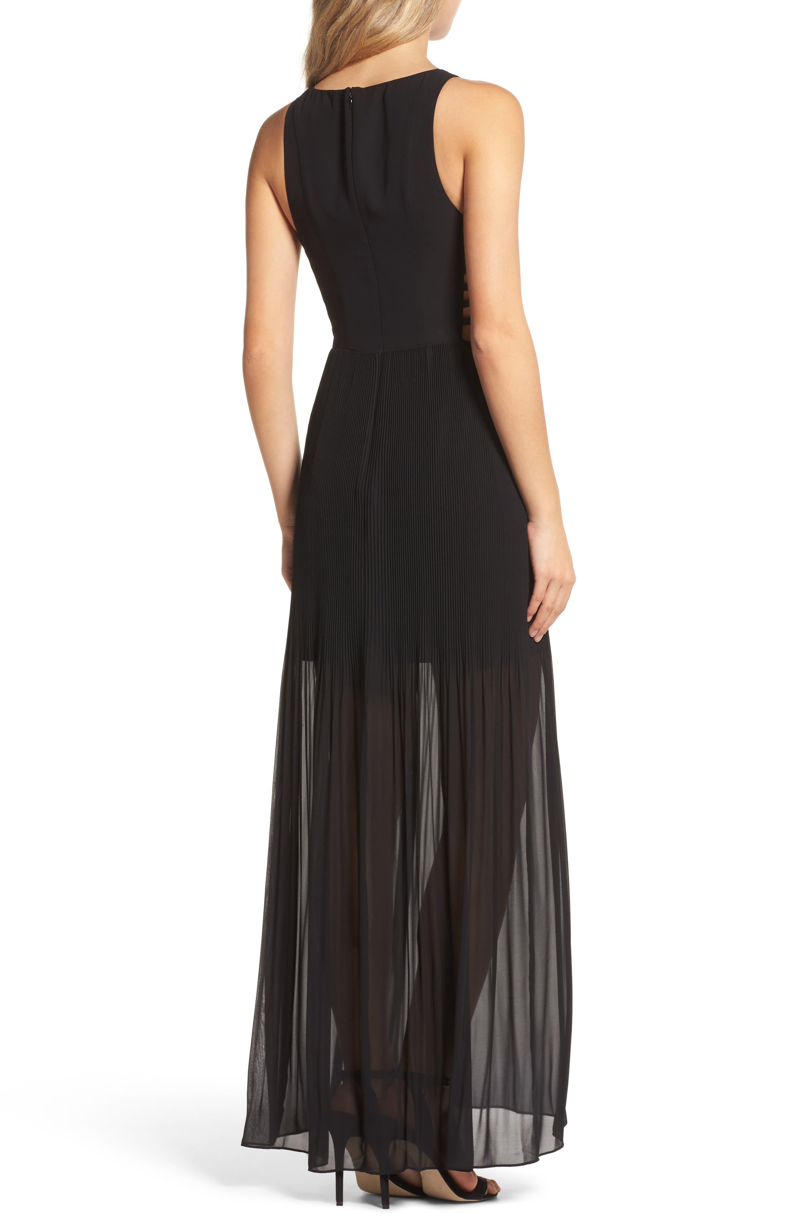 Sunset Blvd Maxi Dress,                             Alternate thumbnail 2, color,                             001