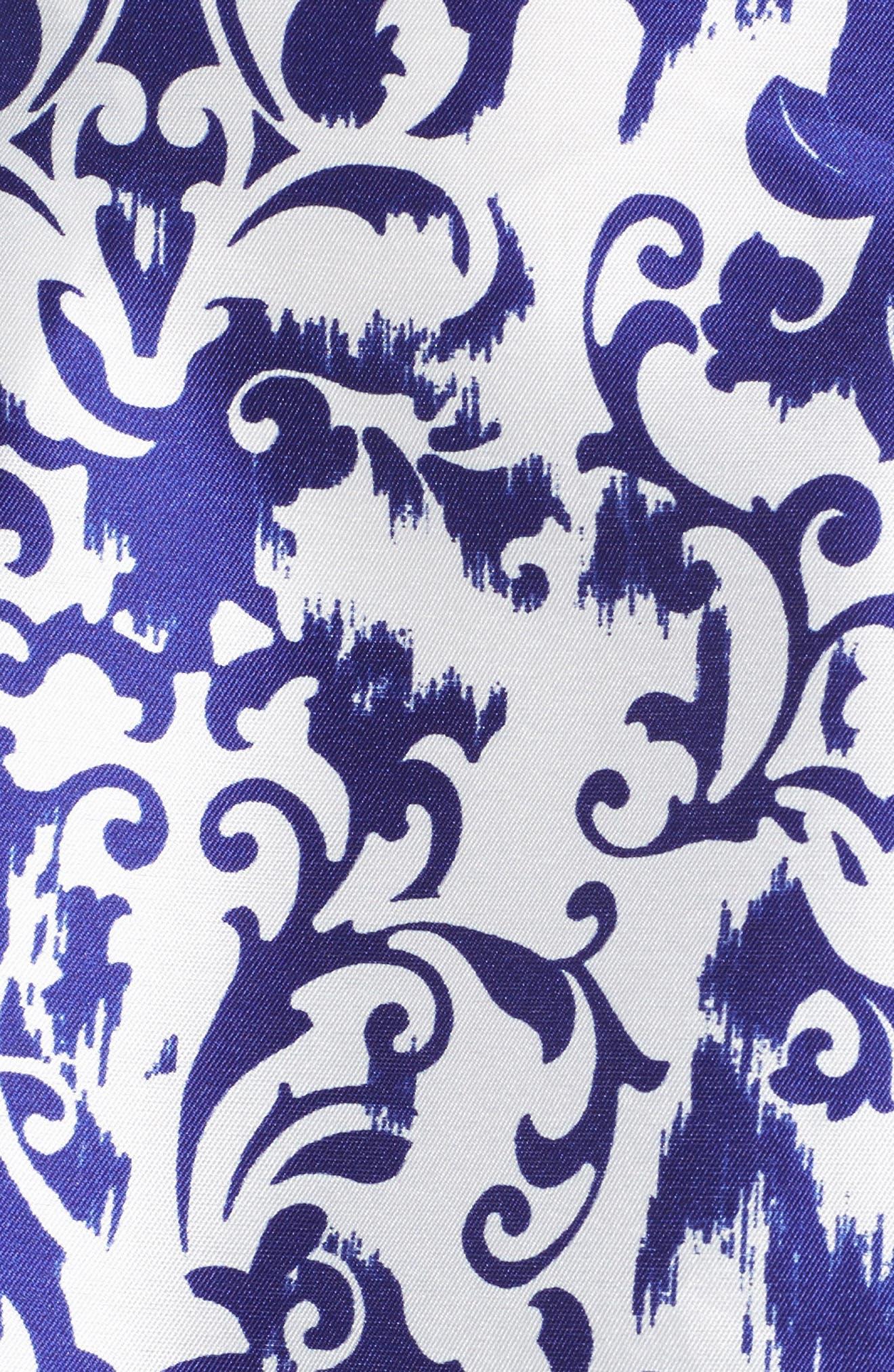 Fit & Flare Dress,                             Alternate thumbnail 5, color,                             480