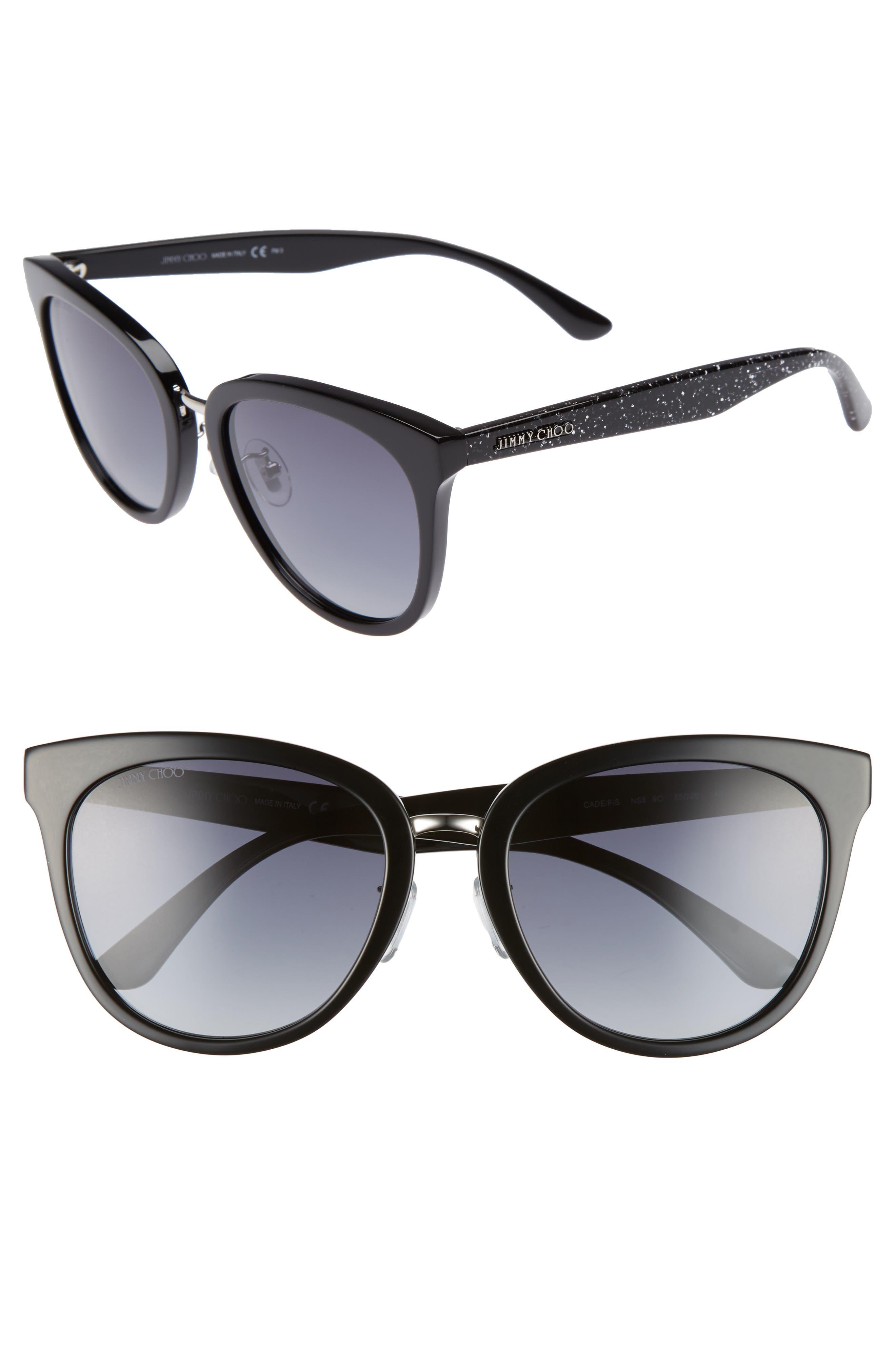 Cadefs 55mm Sunglasses,                         Main,                         color, 001