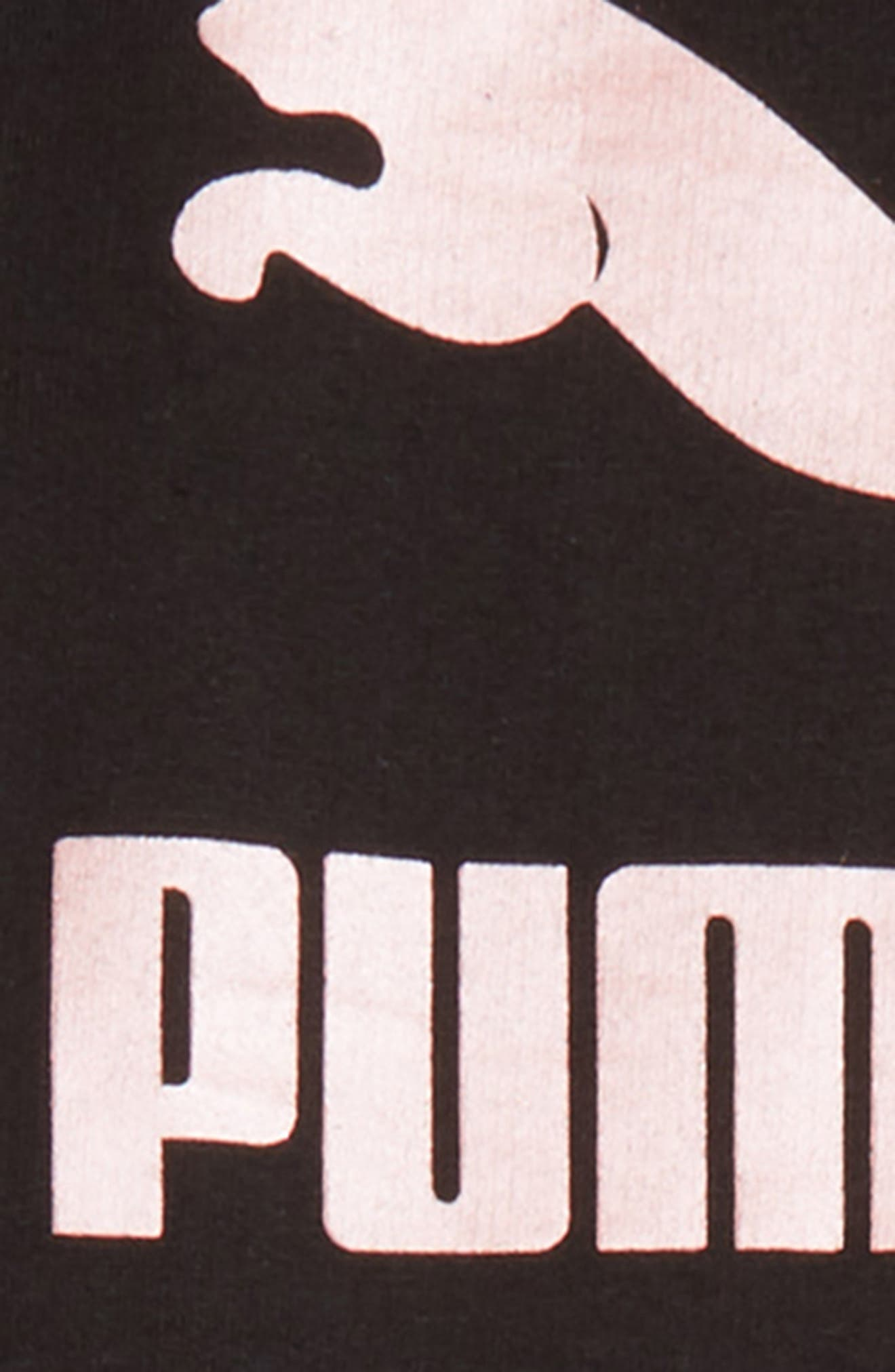 Logo Fleece Sweatshirt & Leggings Set,                             Alternate thumbnail 2, color,                             001
