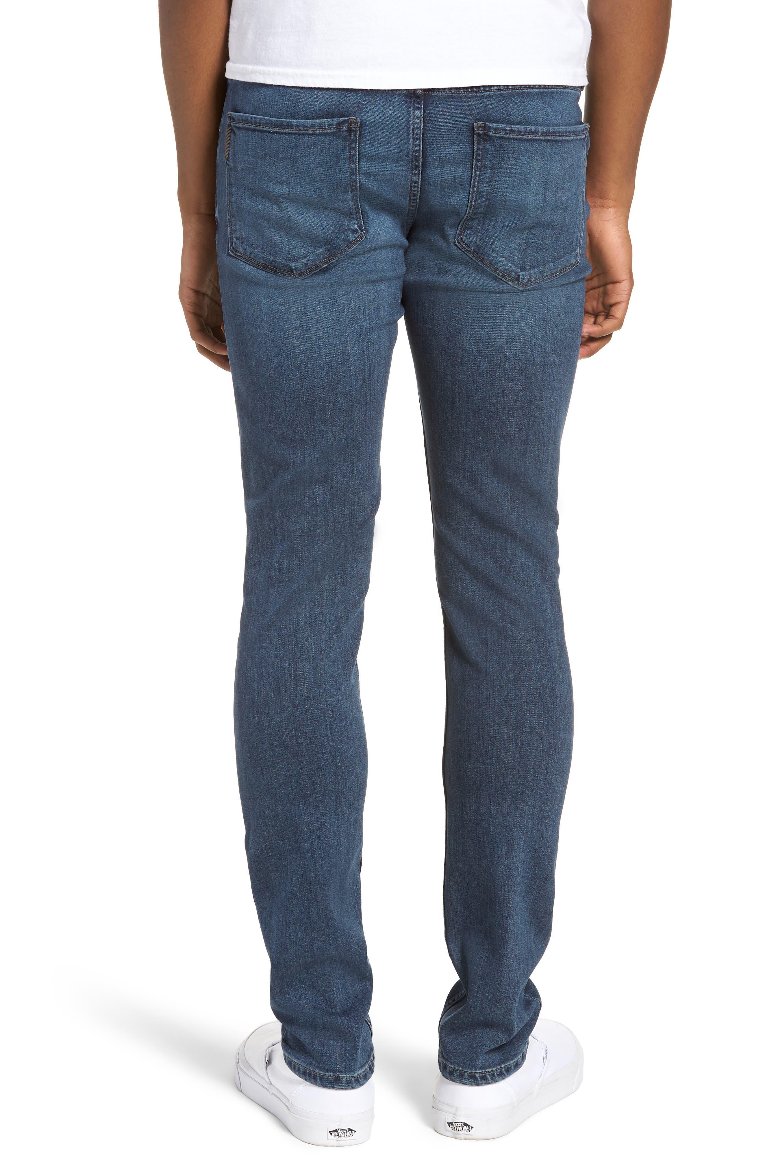 Transcend - Croft Skinny Fit Jeans,                             Alternate thumbnail 2, color,                             GRAMMERCY