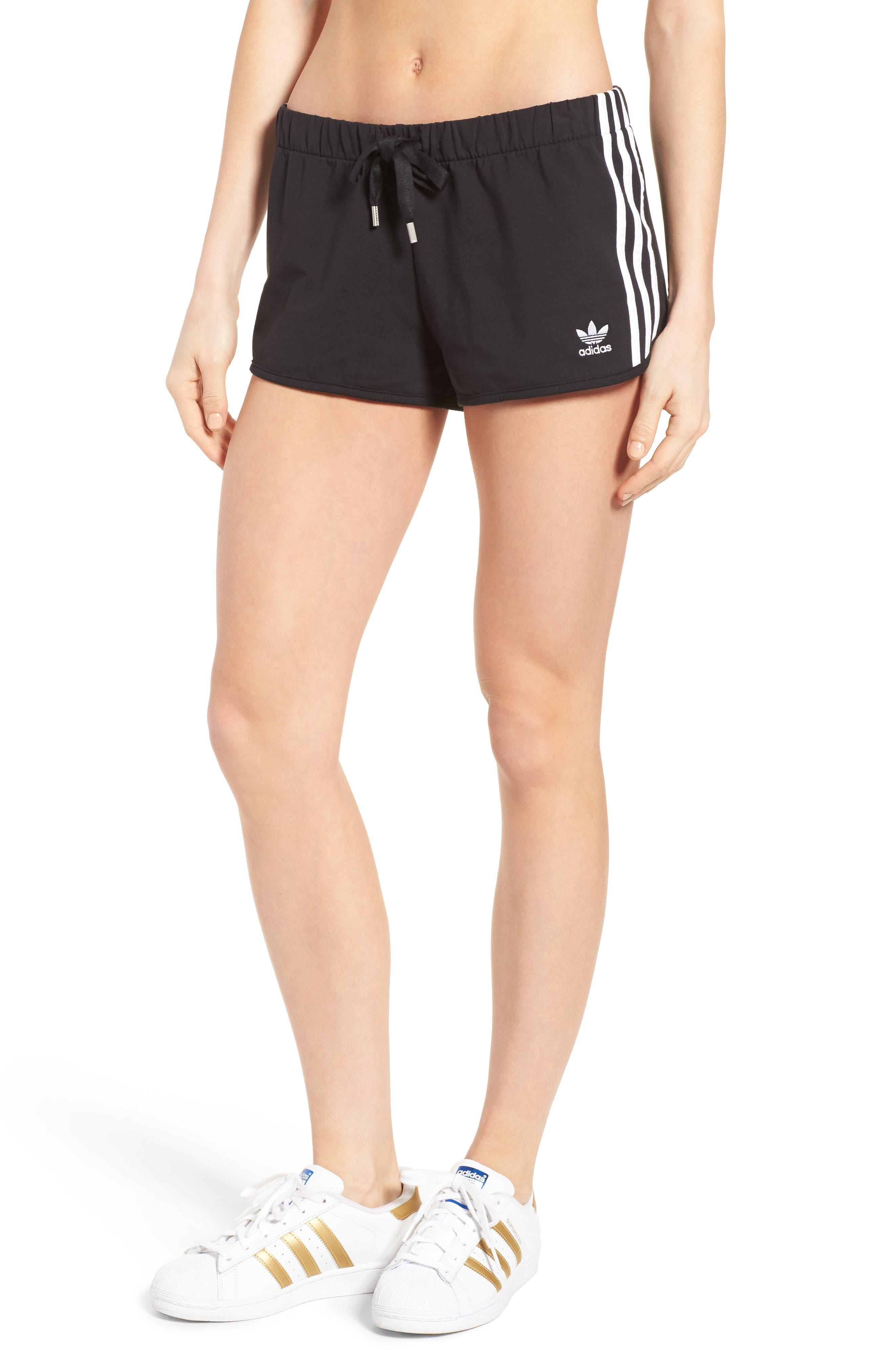 Originals Slim Fit Shorts, Main, color, 001