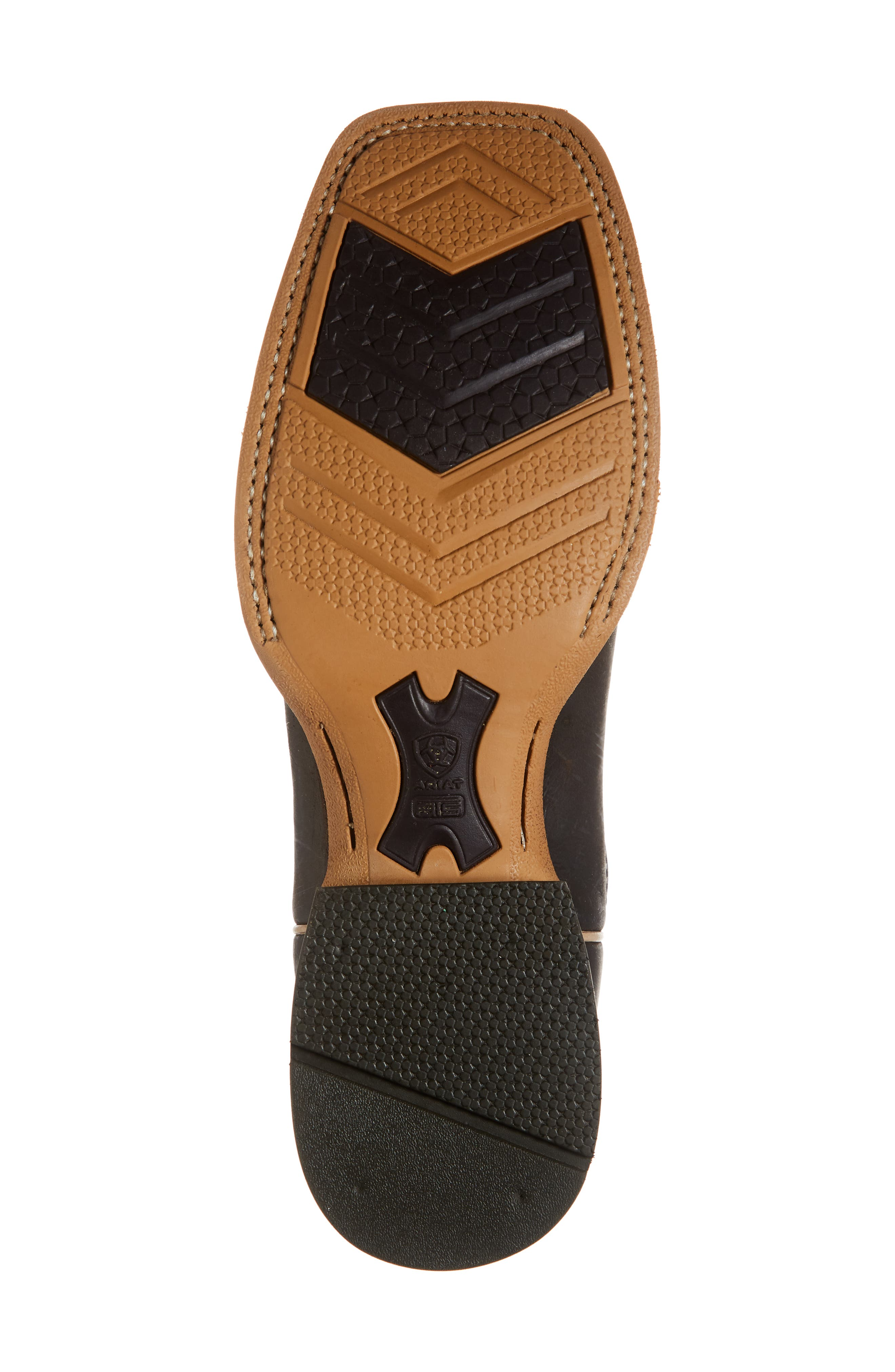 Arena Rebound Cowboy Boot,                             Alternate thumbnail 6, color,                             BROWN/ DESERT LEATHER