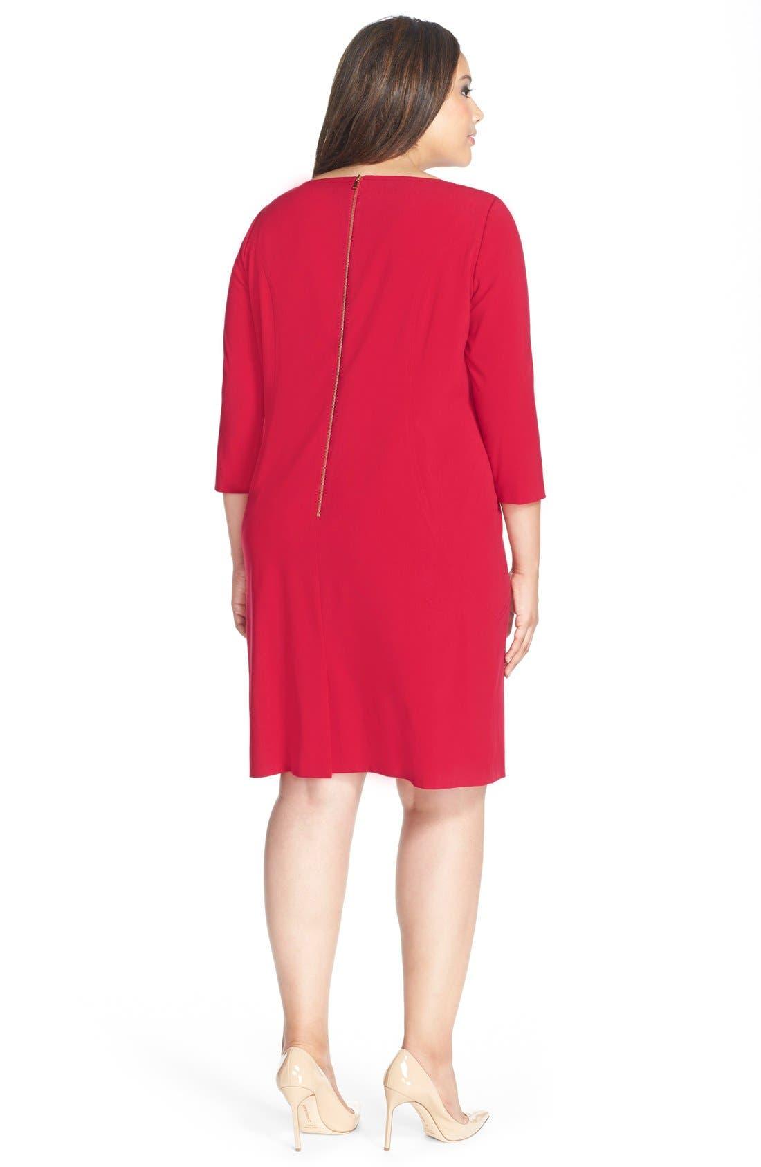 by Arthur S. Levine Seamed A-Line Dress,                             Alternate thumbnail 20, color,