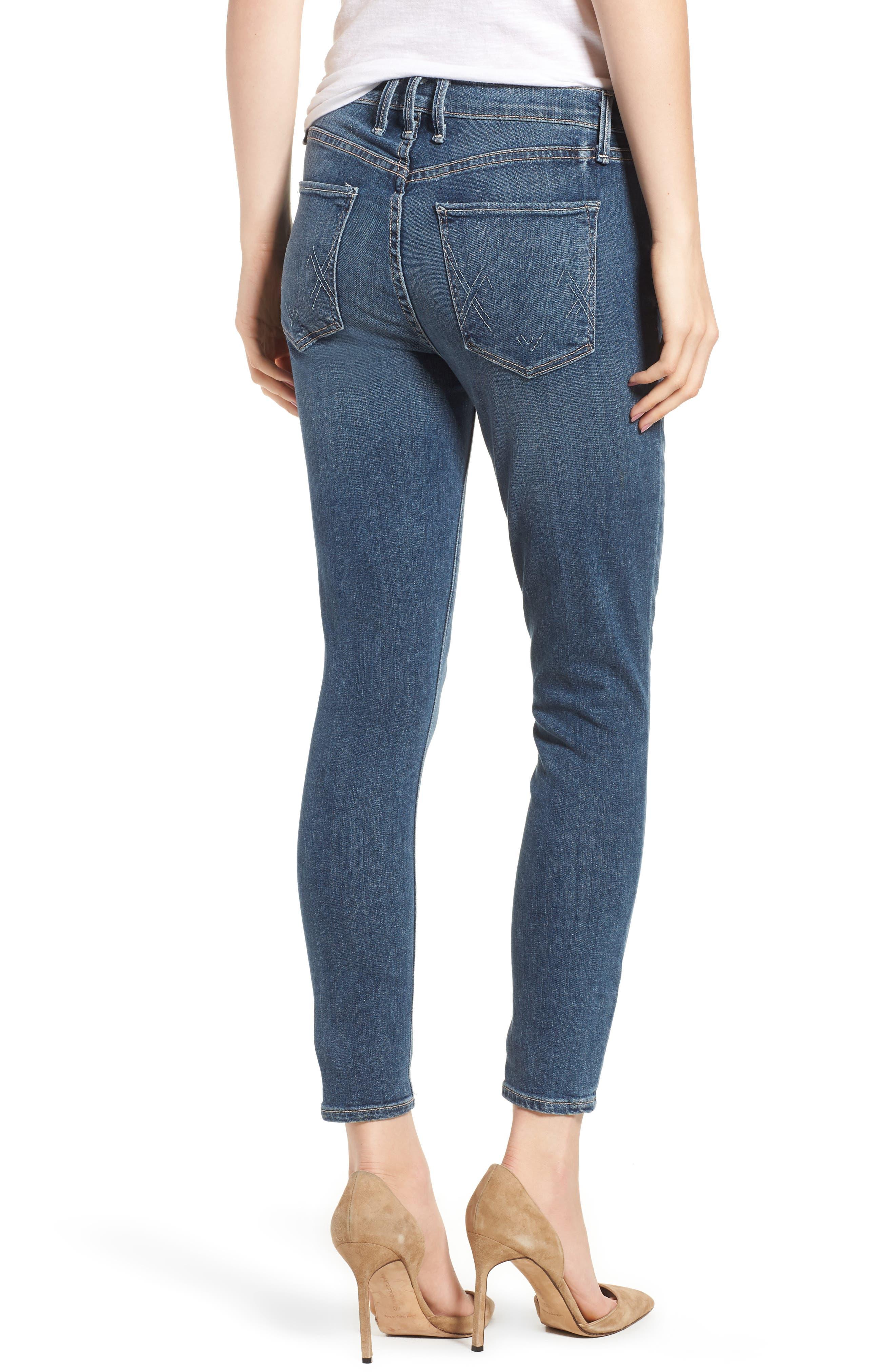 Newton Crop Skinny Jeans,                             Alternate thumbnail 2, color,                             420