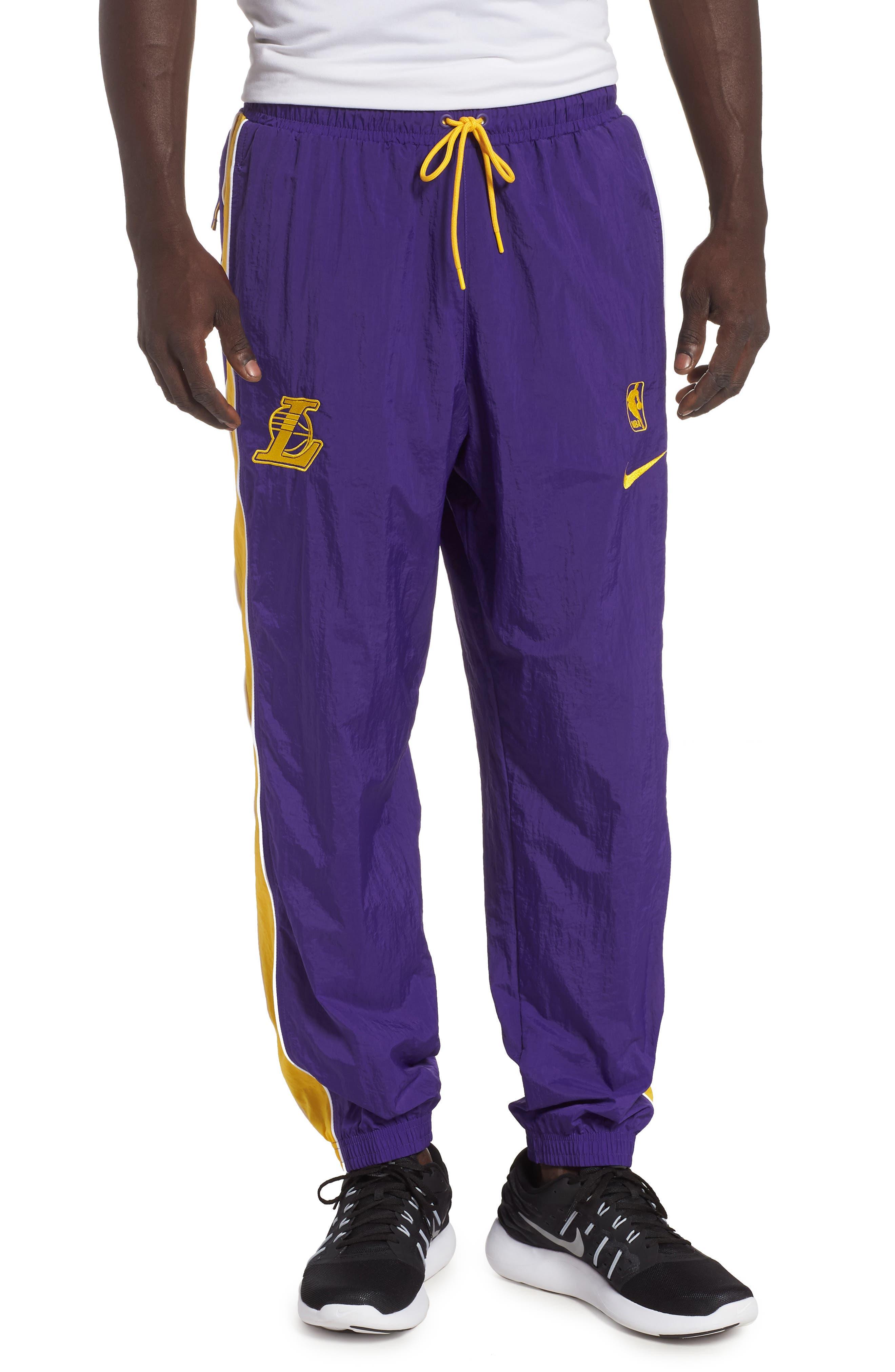 LA Lakers Tracksuit Pants,                             Main thumbnail 1, color,                             504