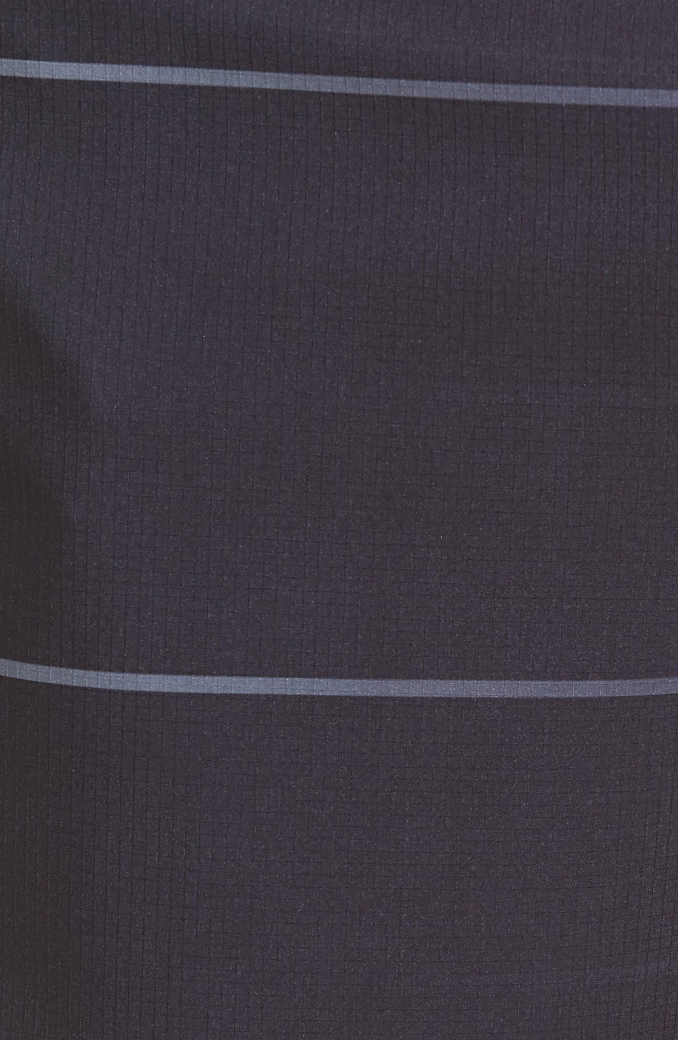 Alpha Trainer Stripe Shorts,                             Alternate thumbnail 5, color,                             010