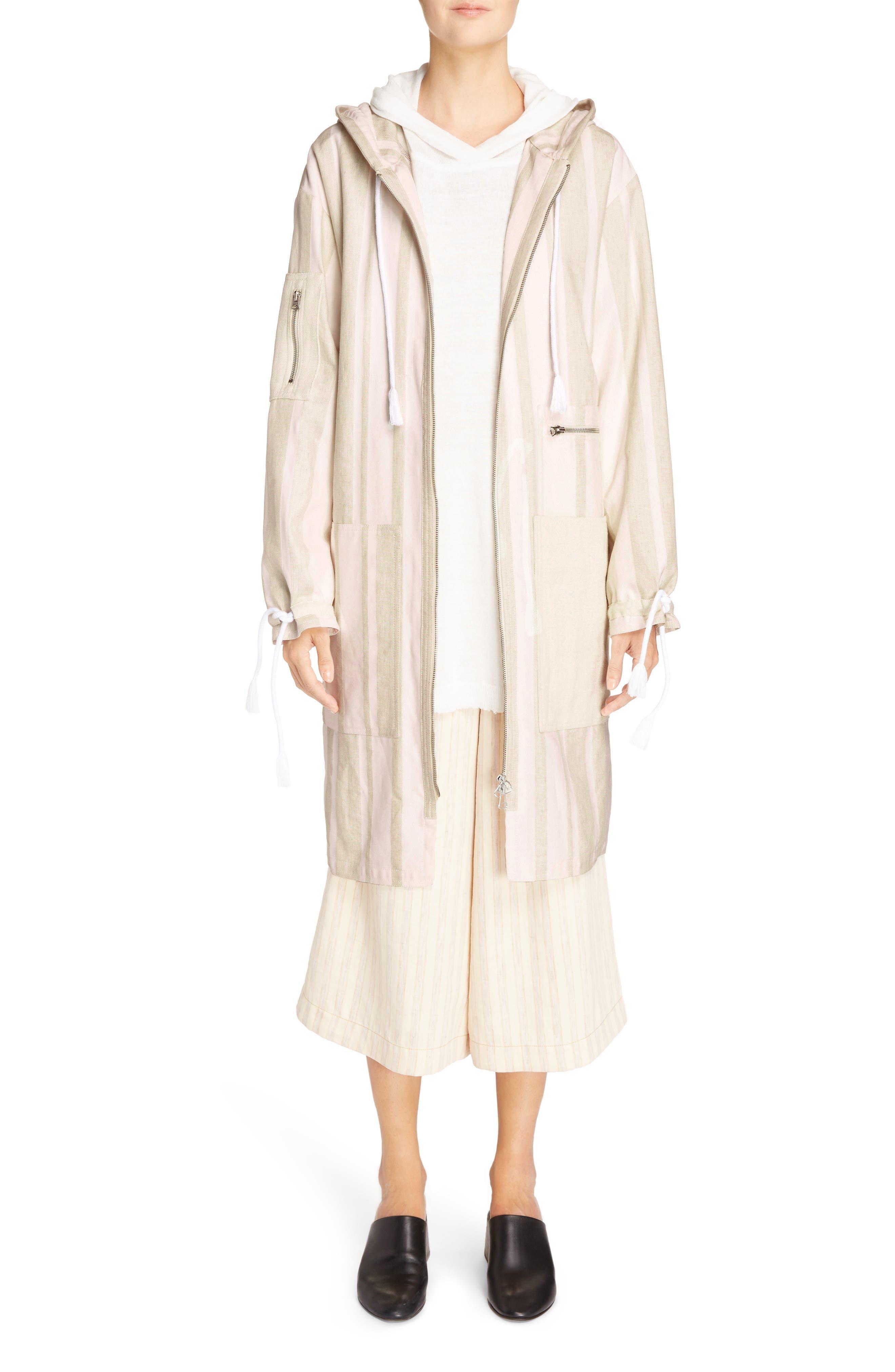 Michela Linen Blend Culottes,                             Alternate thumbnail 6, color,                             250
