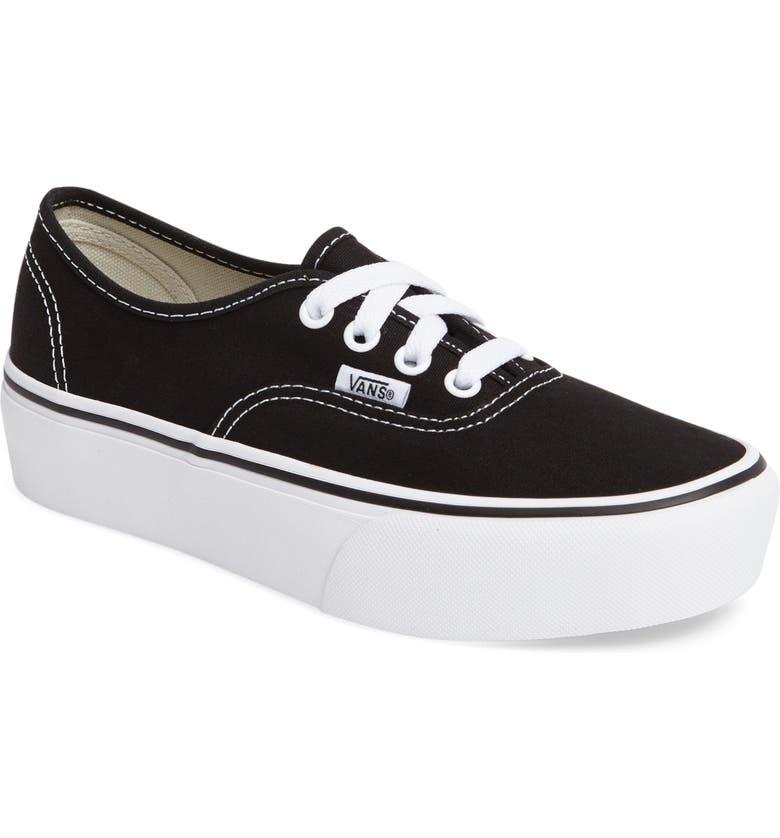 fa88c7f4472 Vans  Authentic  Platform Sneaker (Women)