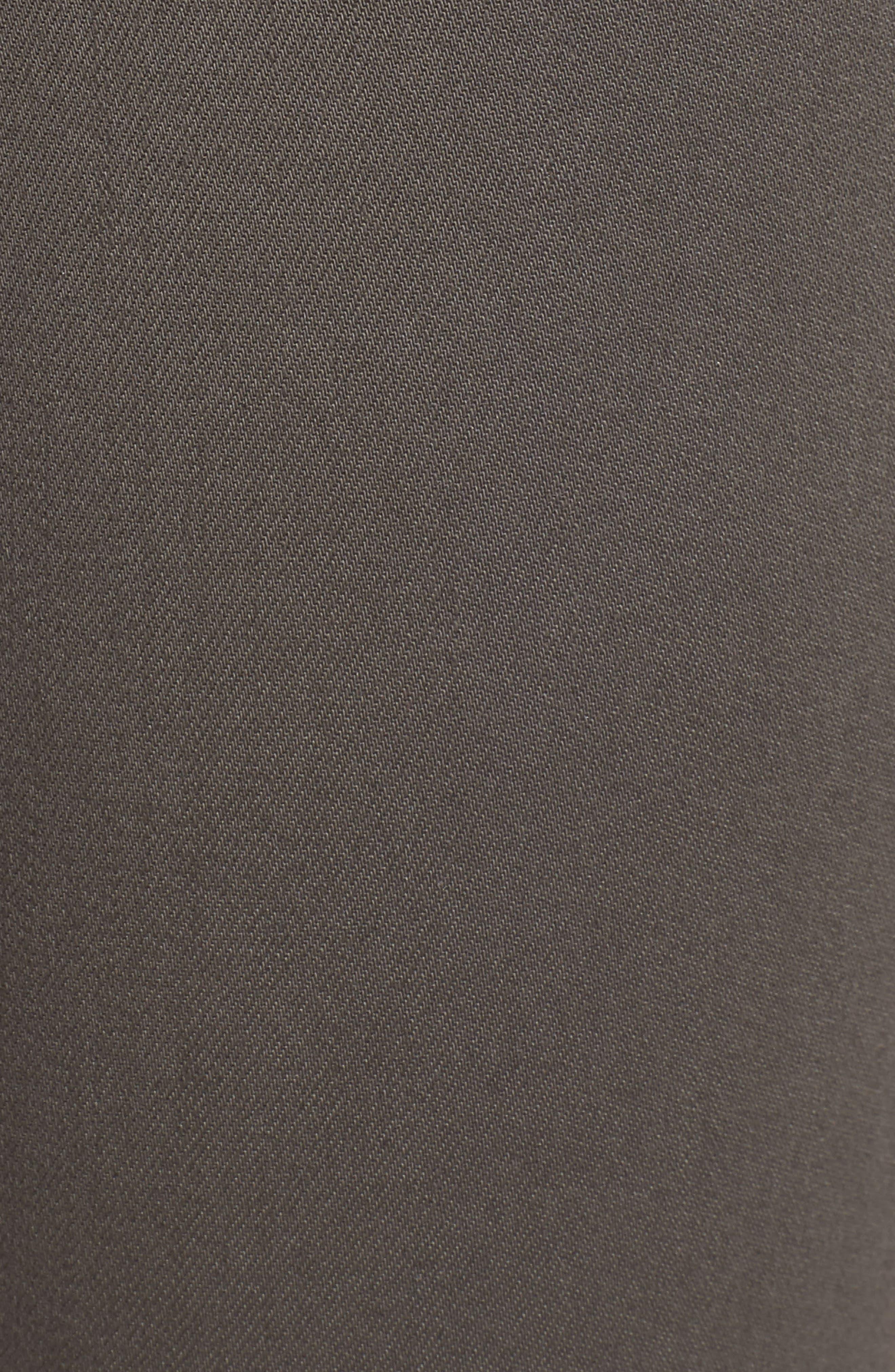 Alana High Waist Crop Skinny Jeans,                             Alternate thumbnail 6, color,                             COATED JUNIPER