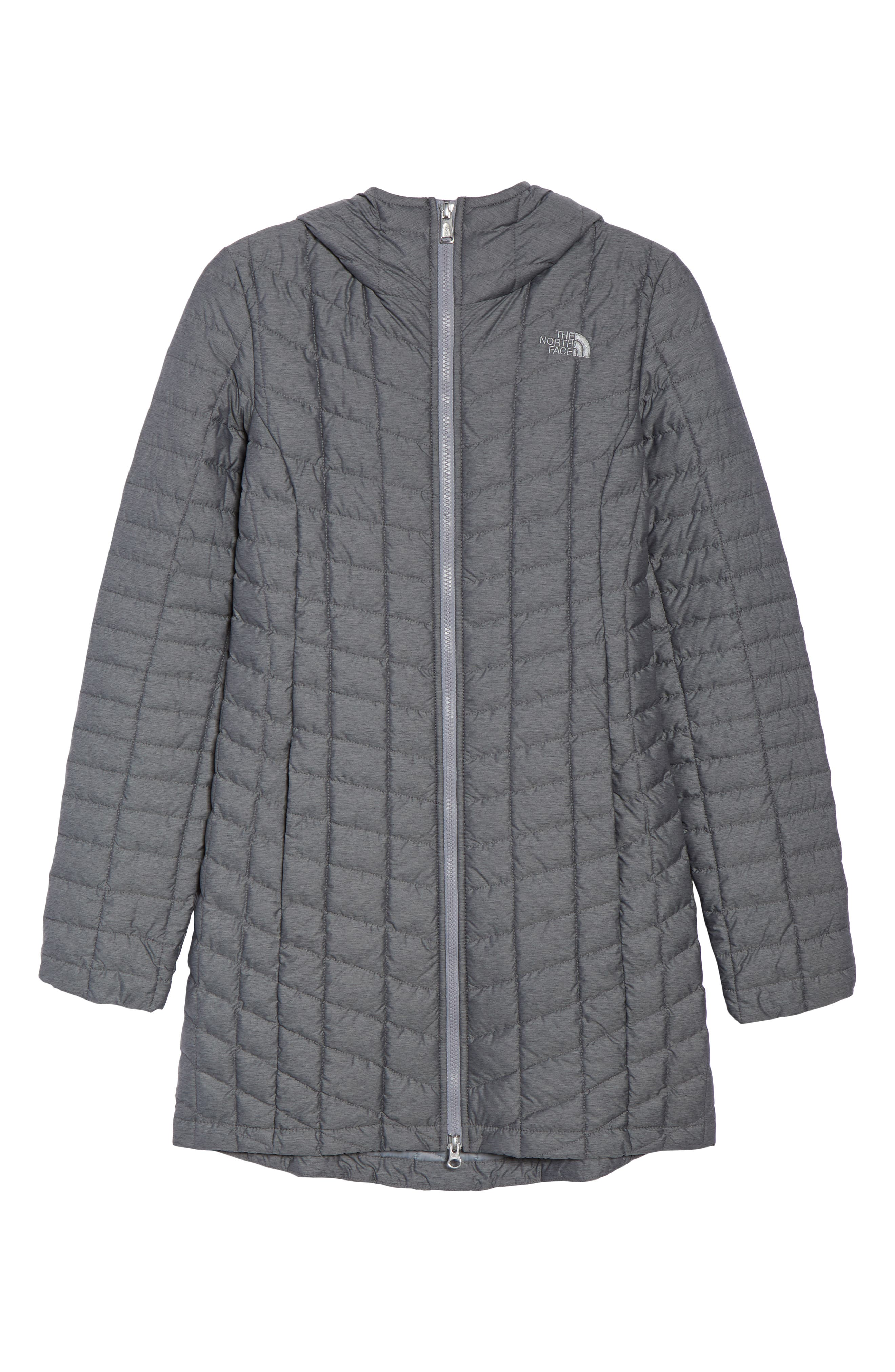 THE NORTH FACE,                             ThermoBall<sup>™</sup> Insulated Hooded Parka,                             Alternate thumbnail 6, color,                             033