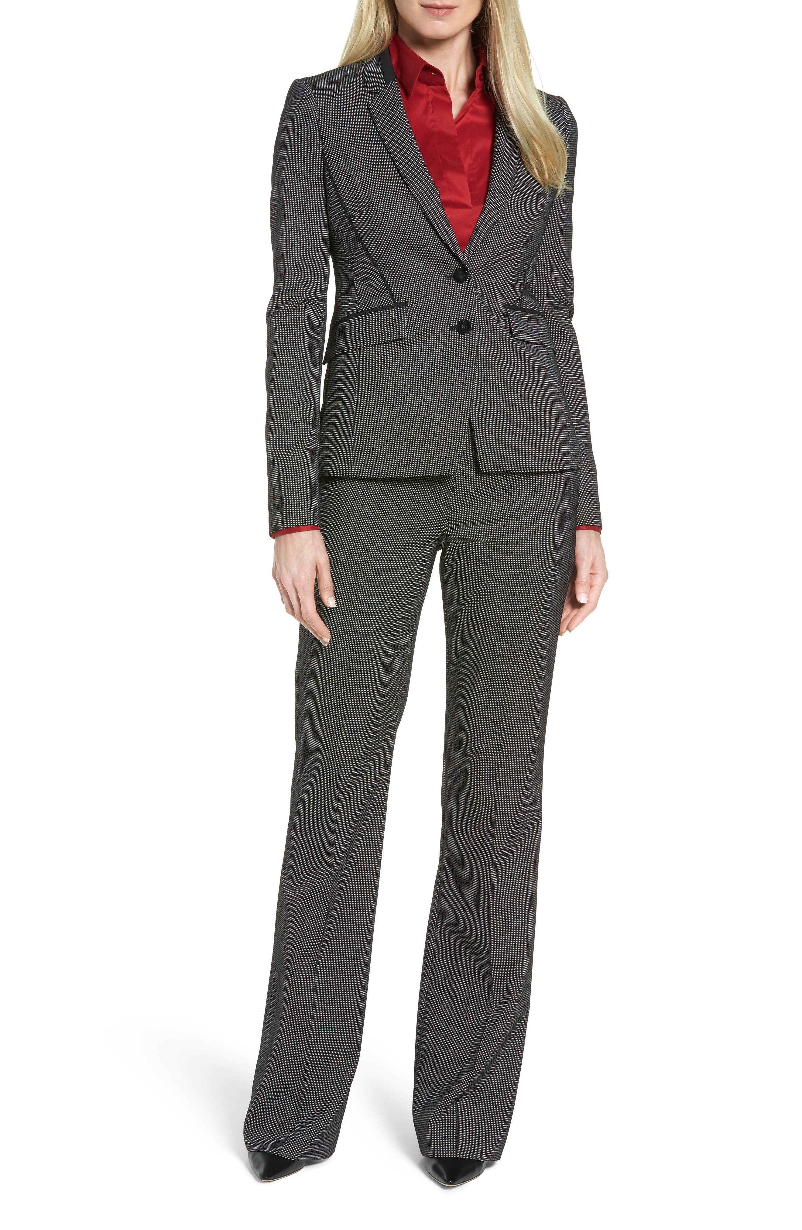 Jelisana Stretch Wool Suit Jacket,                             Alternate thumbnail 7, color,