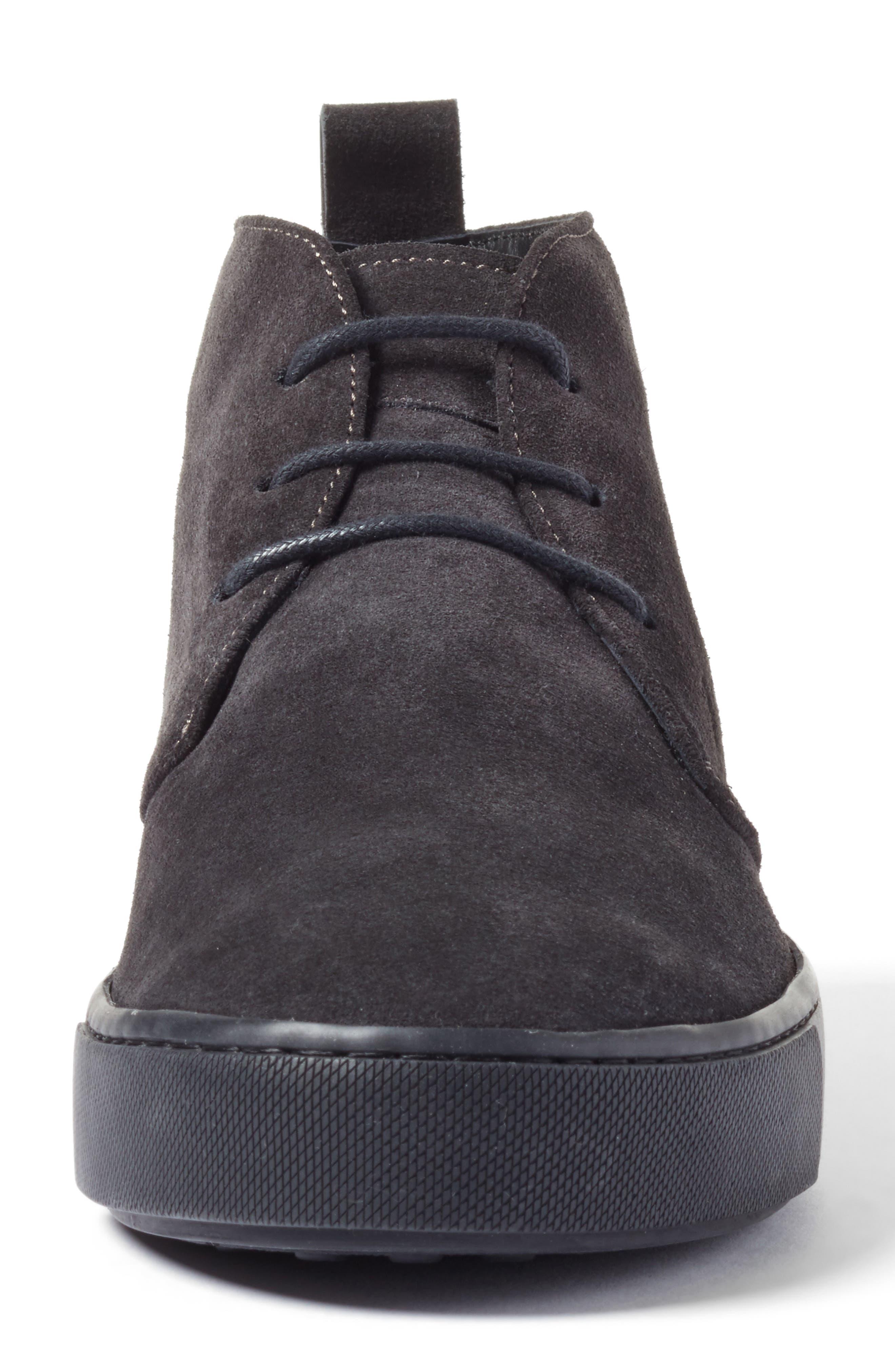 Leather Chukka Boot,                             Alternate thumbnail 4, color,                             020