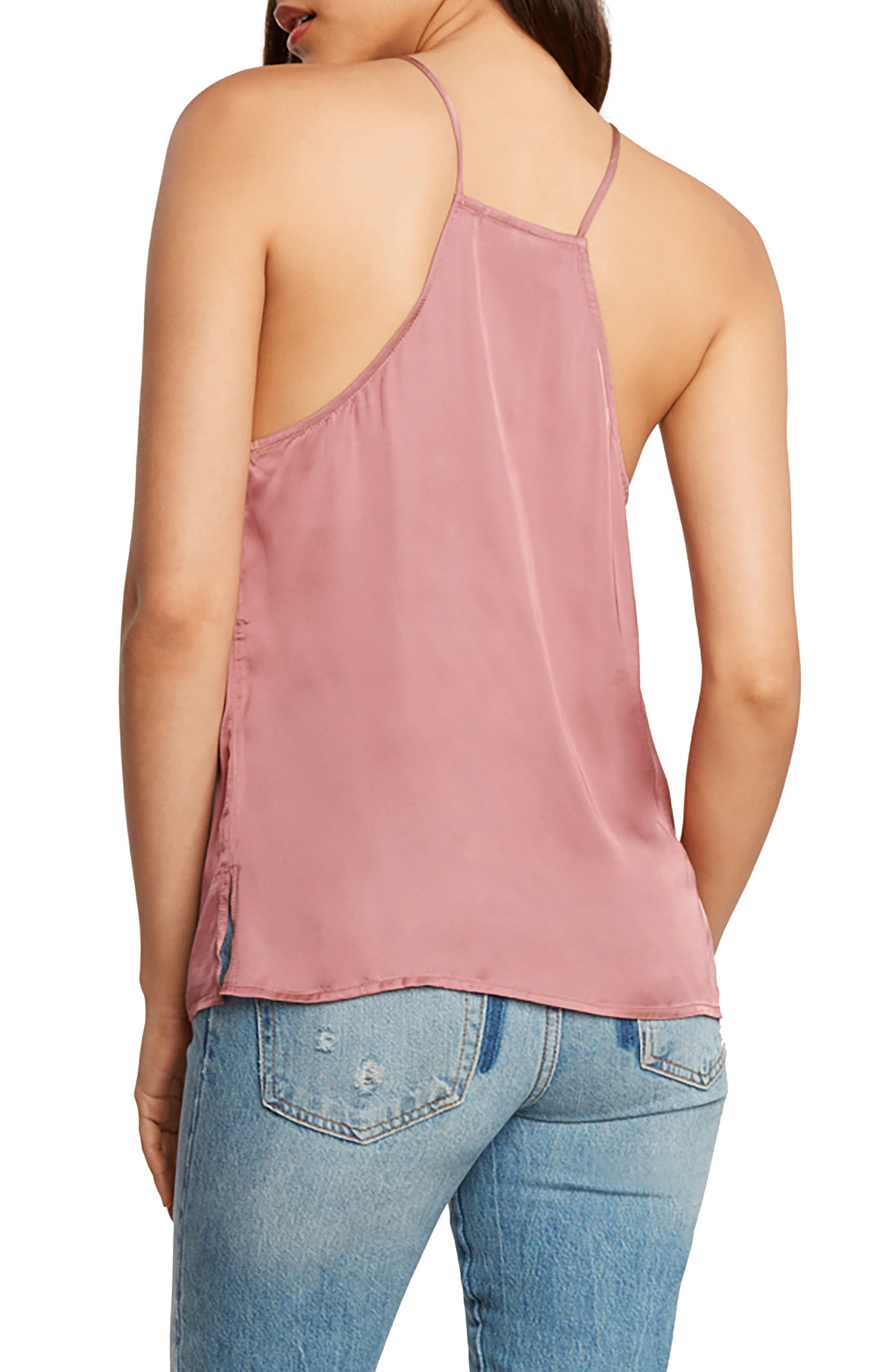 Lace-Up Satin Camisole,                             Alternate thumbnail 2, color,                             680