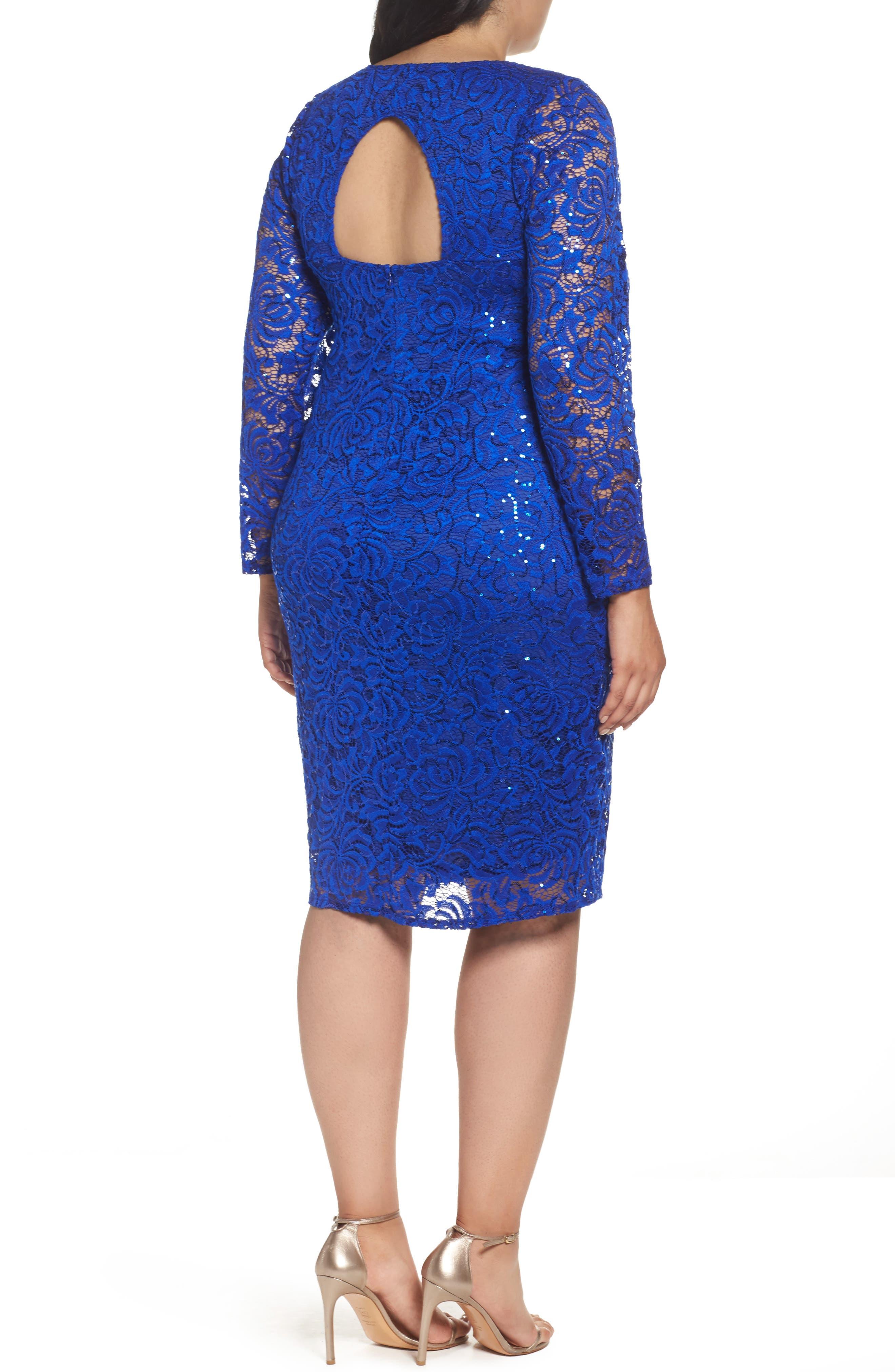 Lace Sheath Dress,                             Alternate thumbnail 5, color,
