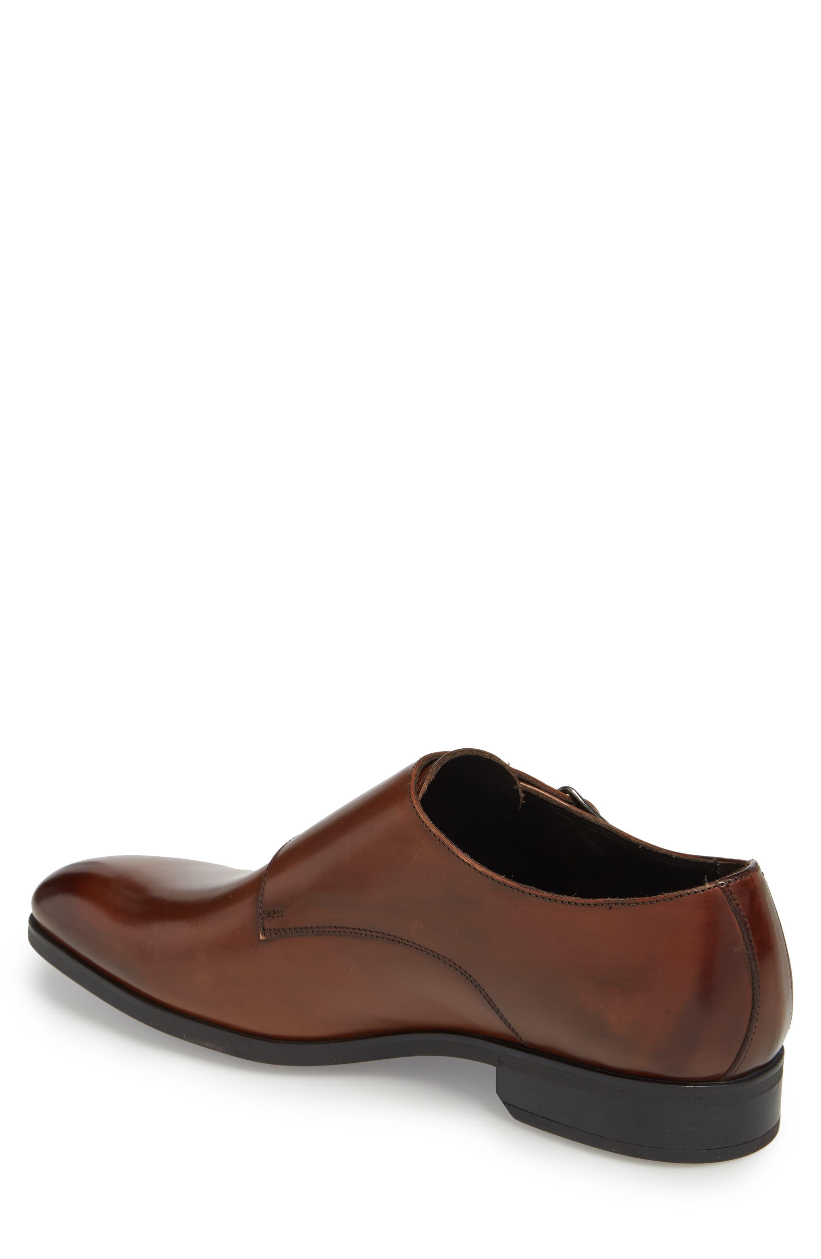 Benjamin Double Monk Strap Shoe,                             Alternate thumbnail 2, color,                             TMORO LEATHER