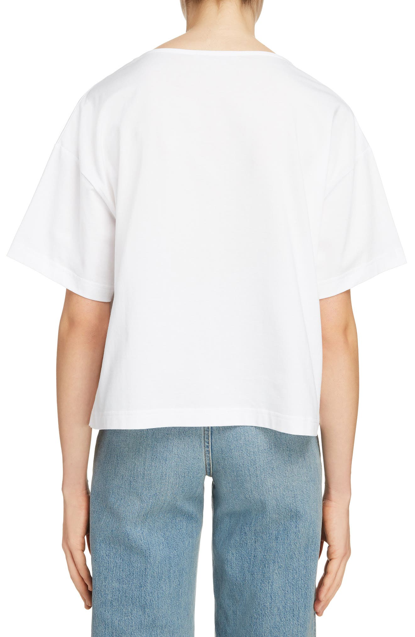 Marwig Boxy Tee,                             Alternate thumbnail 2, color,                             OPTIC WHITE